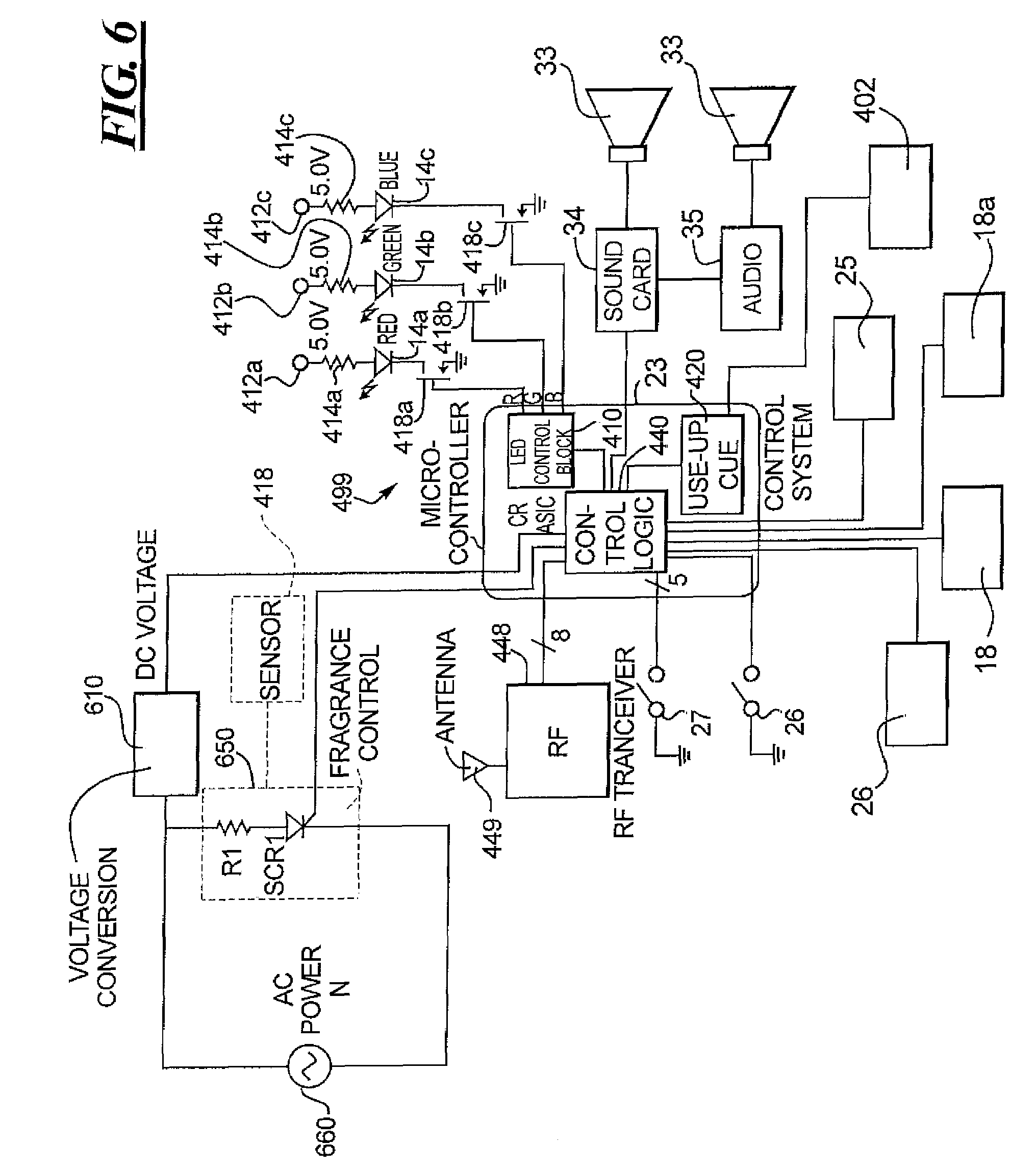 Patent Us7476002 Color Changing Light Devices With Active 18 W Cfl Circuit Diagram Drawing