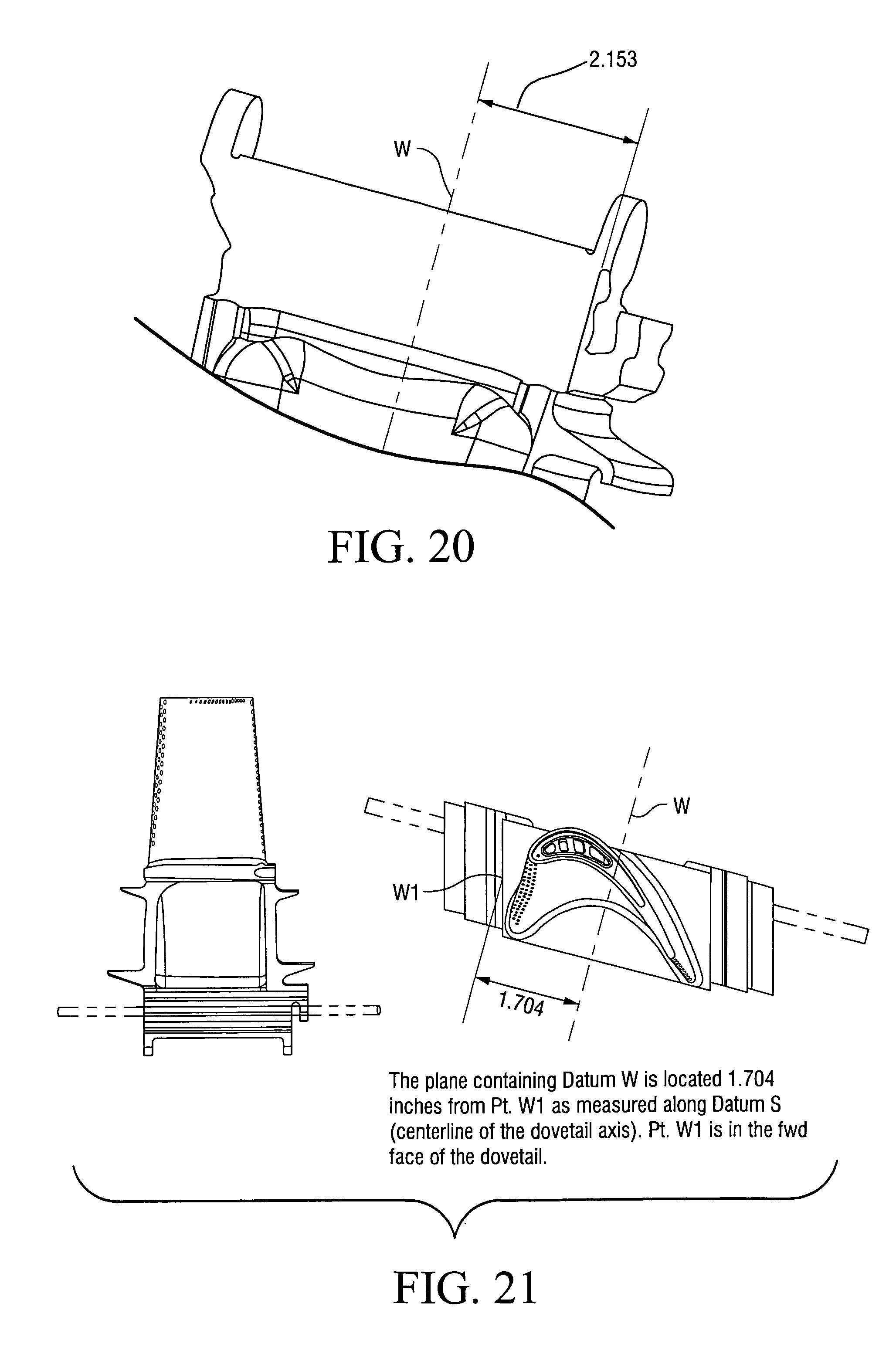 patent us7476083  disk dovetail backcut for blade  disk stress reduction  7fa e  stage 1