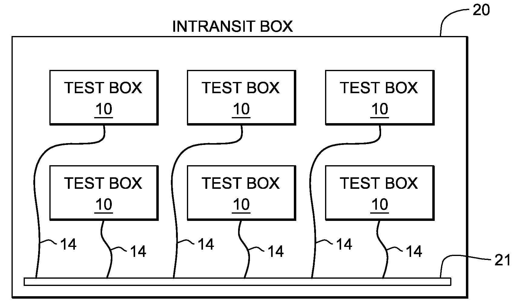 patent us7478280 - test system for integrated circuits