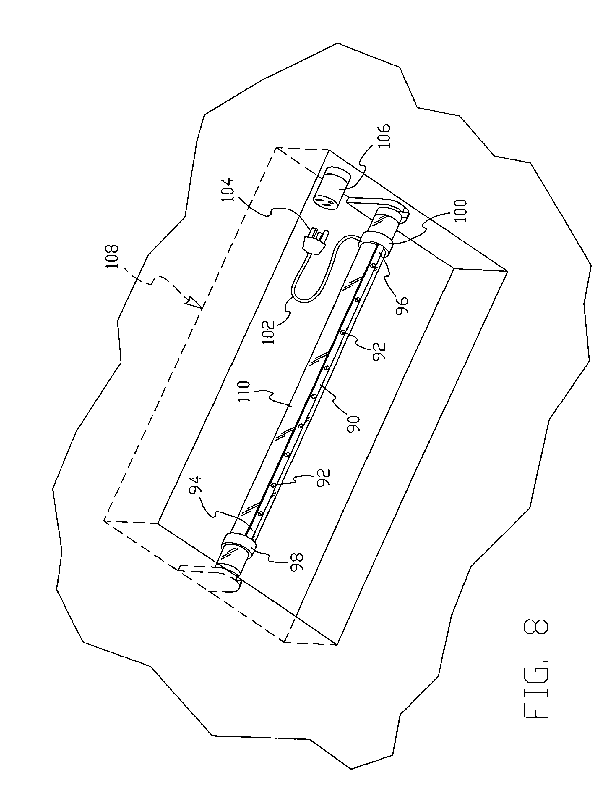 patent us7478924 - combination fluorescent and led lighting system