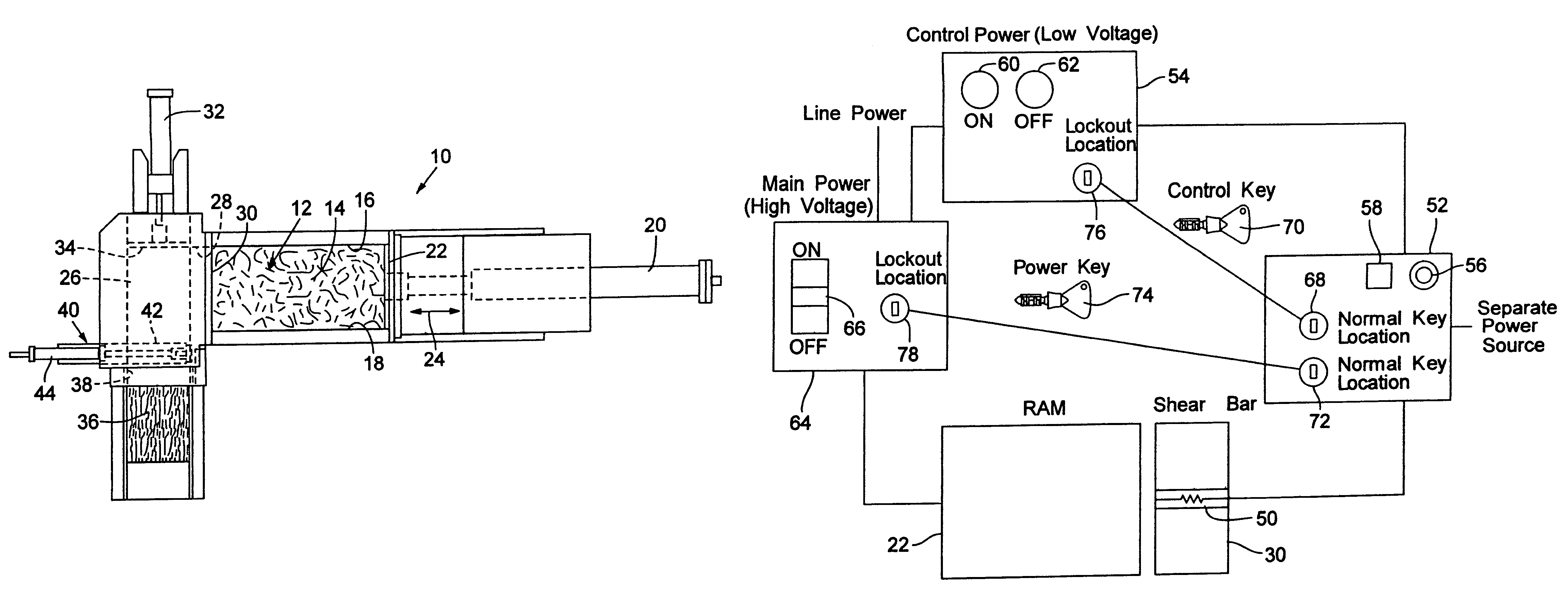 Patent US7493854 - Jam detection and safety device for jamming ... on