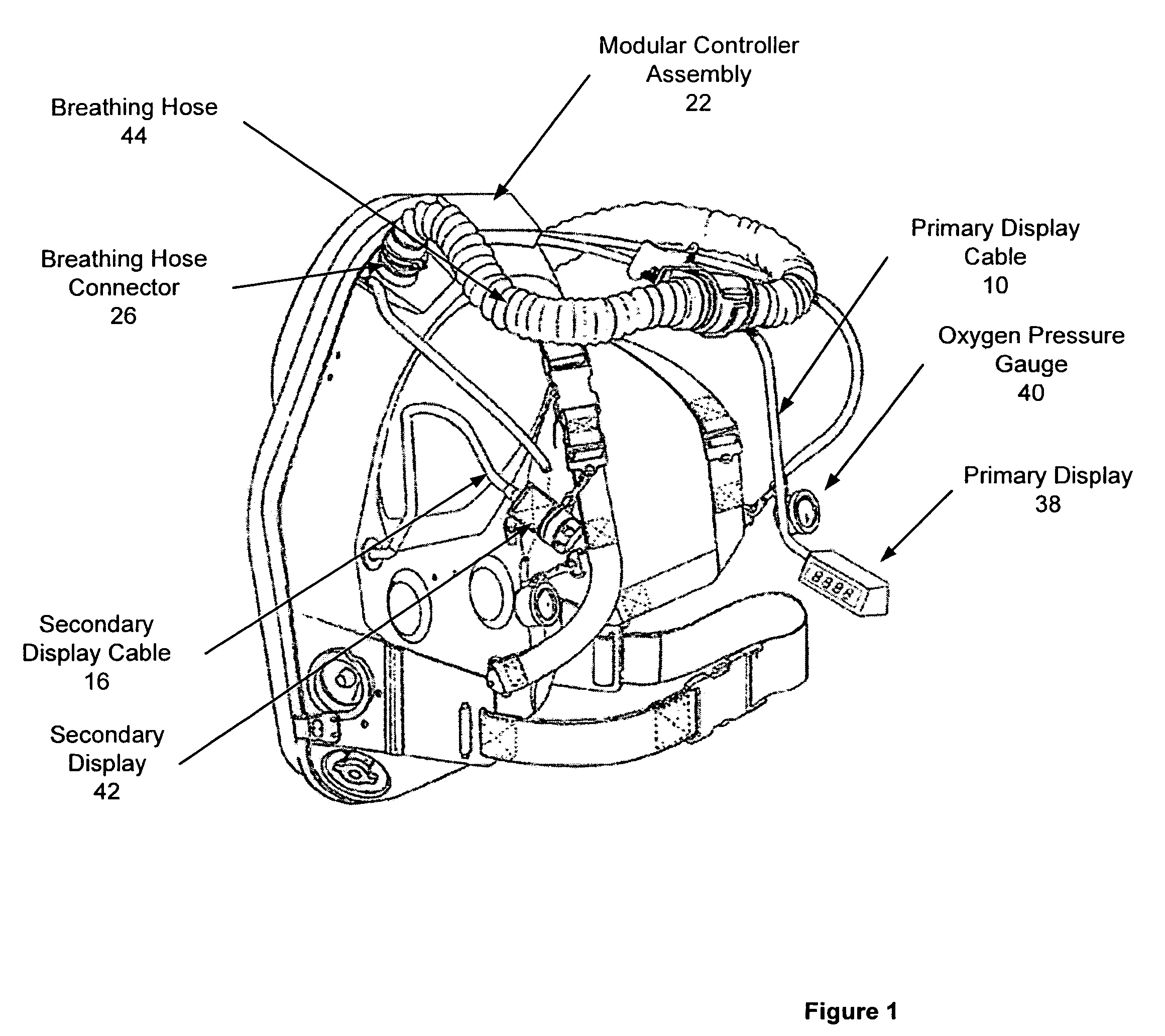 Patent Us7497216 Self Contained Breathing Apparatus