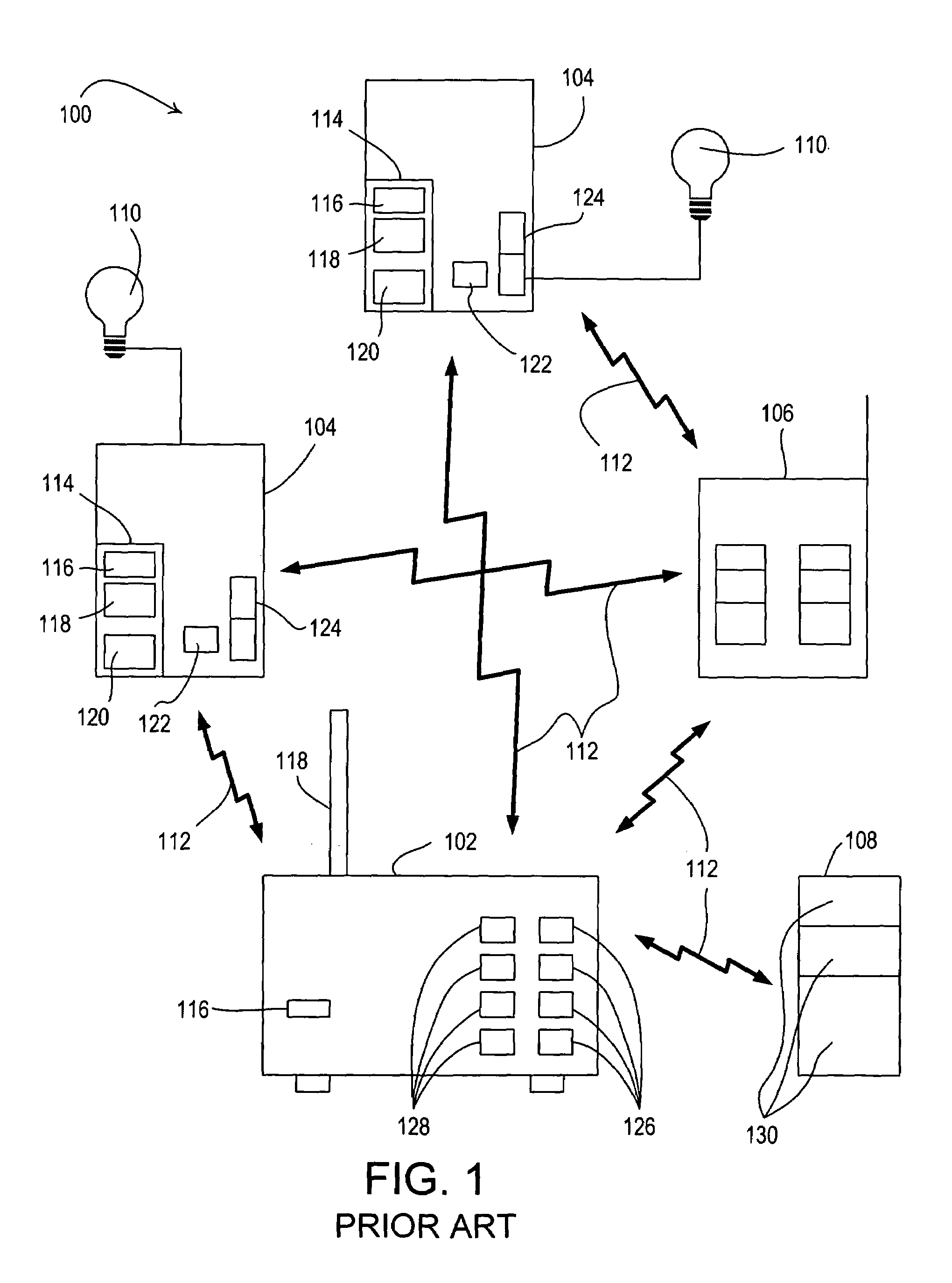 Patent Us7498952 Remote Control Lighting System Google 102 Results For Circuit Breaker Identifier Sale Classifieds Drawing