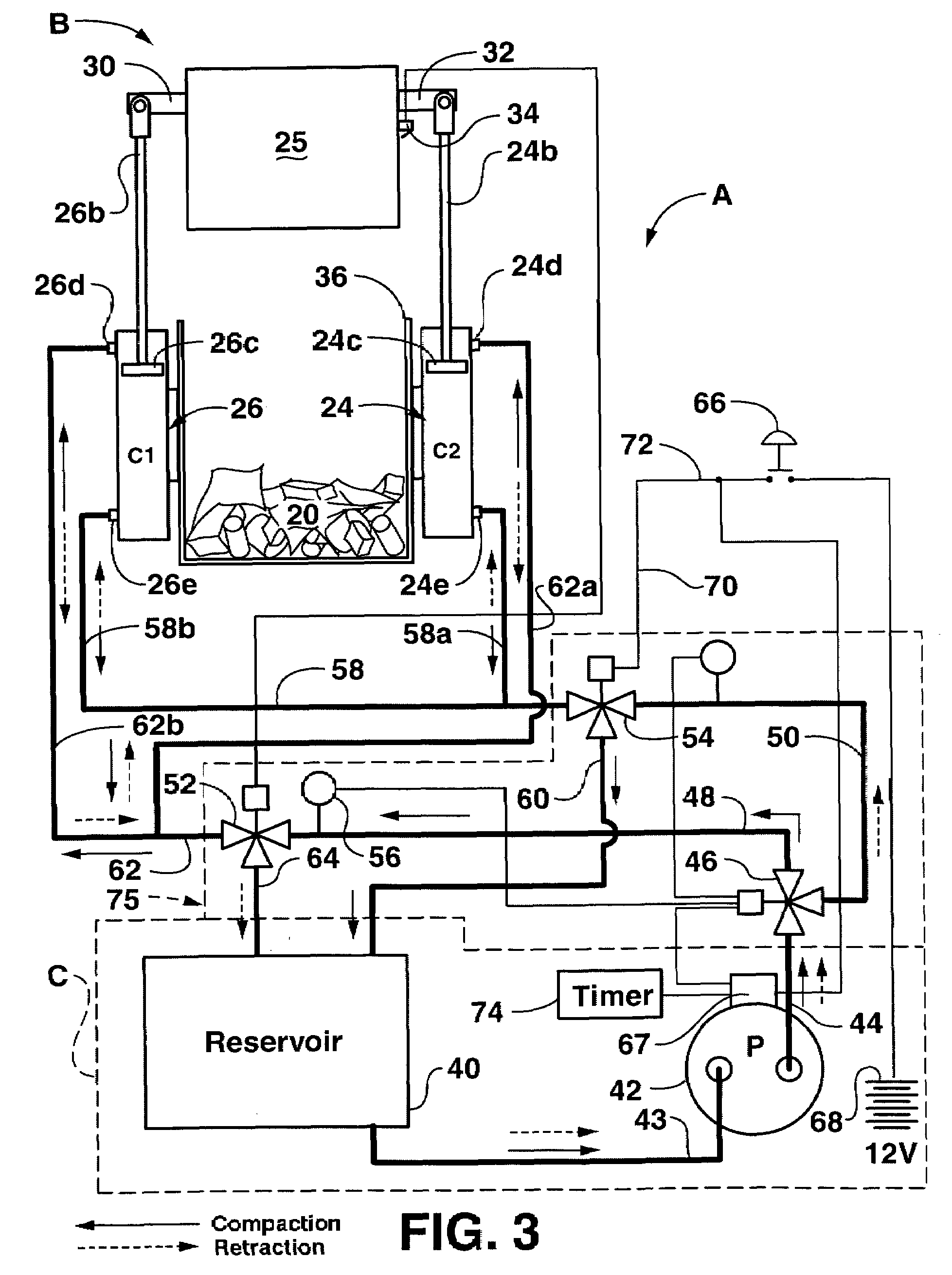trash compactor machine wiring diagram