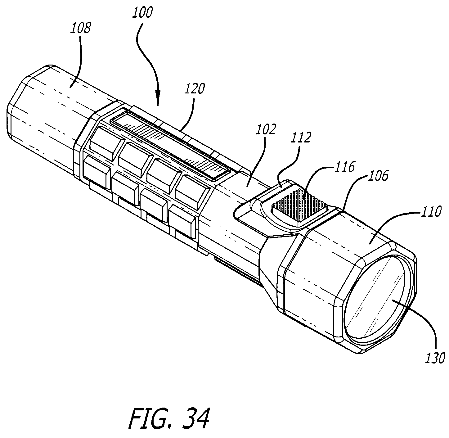patent us7503671 - flashlight