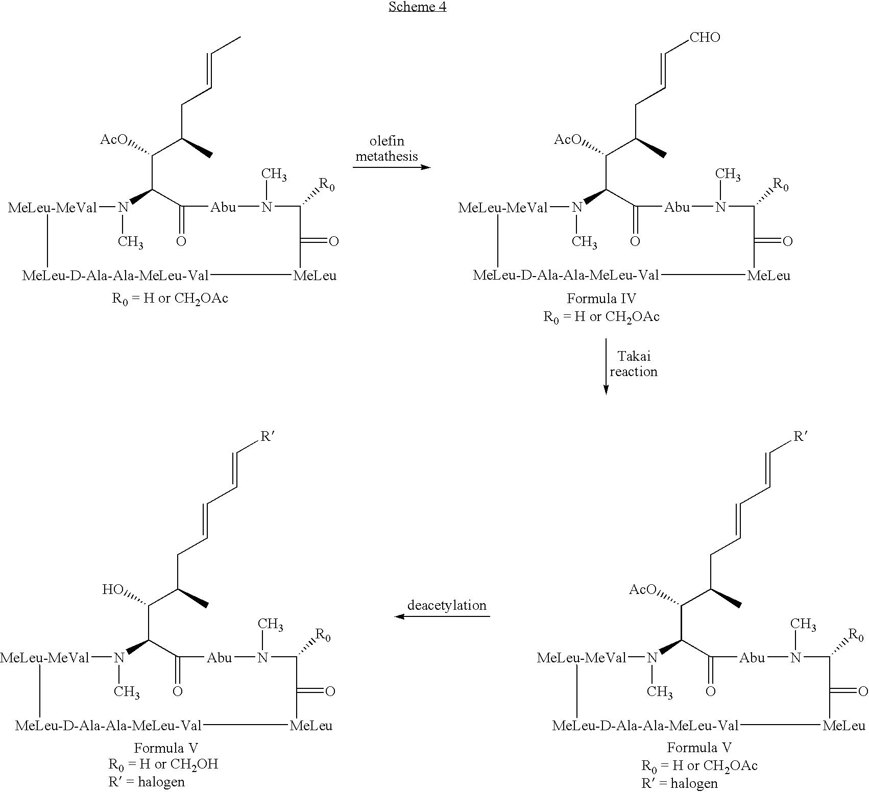 cross metathesis acrolein