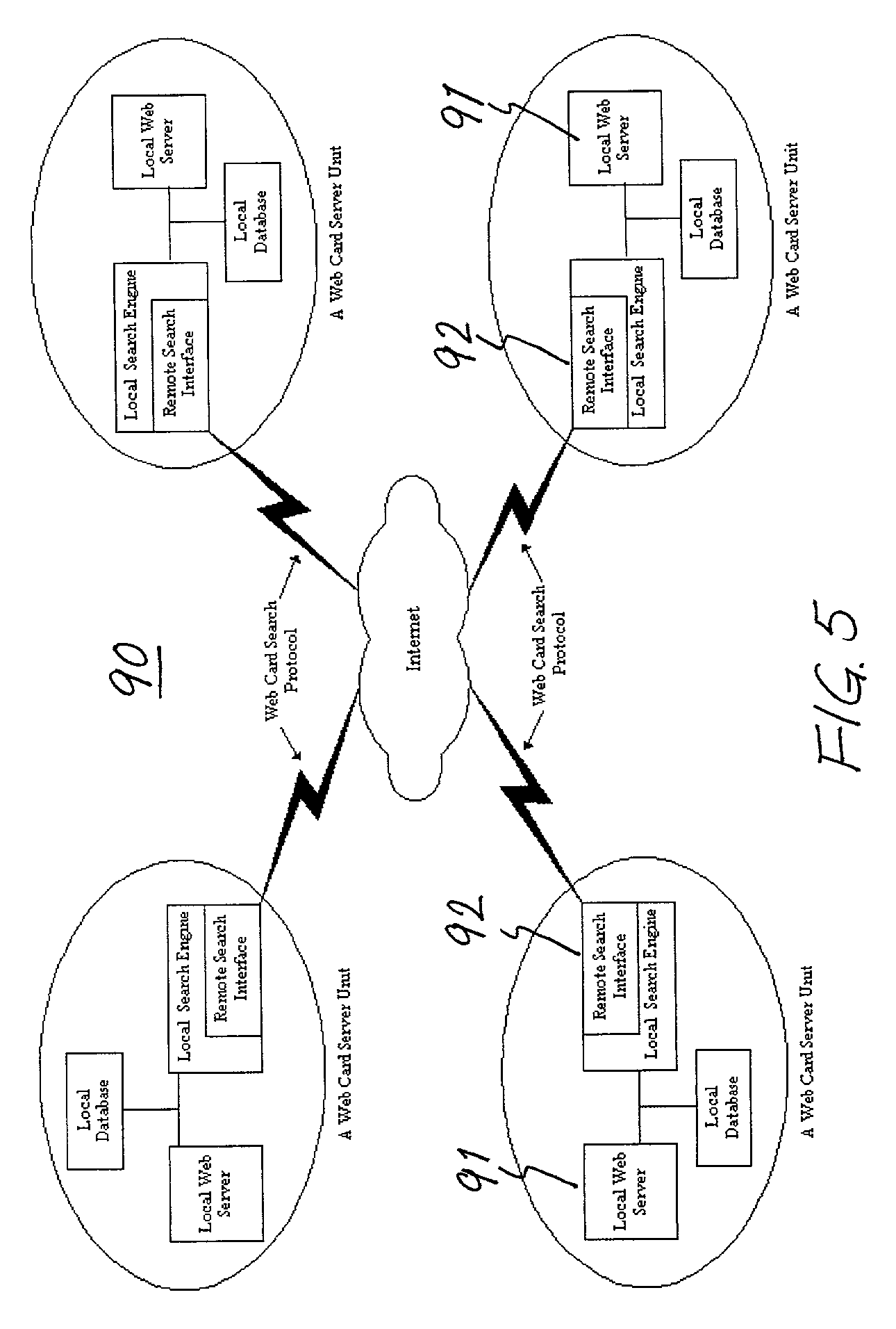patent us7512666 global network of web card systems and method My IP Adrees patent drawing