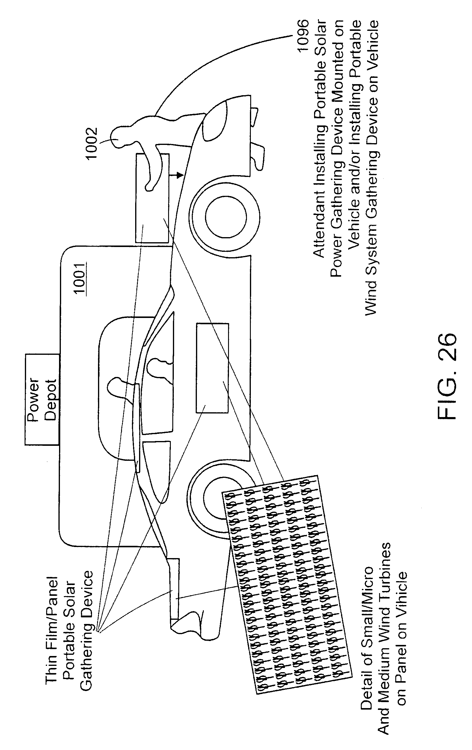Patent Us7525210 System And Method For Creating A Networked Solar Powered Cars Diagram Power Drawing