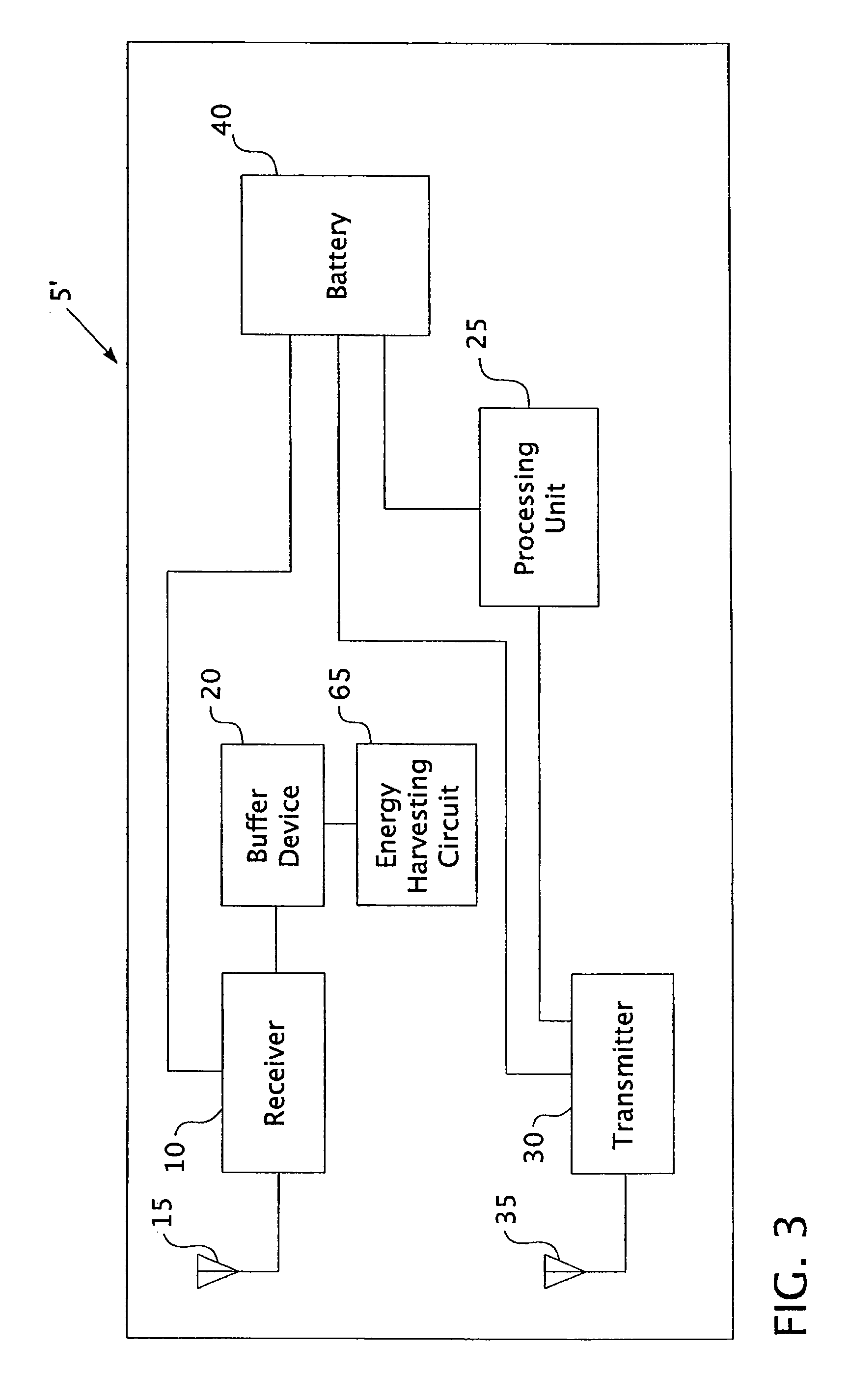 Patent Us7525436 Methods And Apparatus For Reducing Power Passive Rfid Tag Circuit Diagram Far Field Drawing