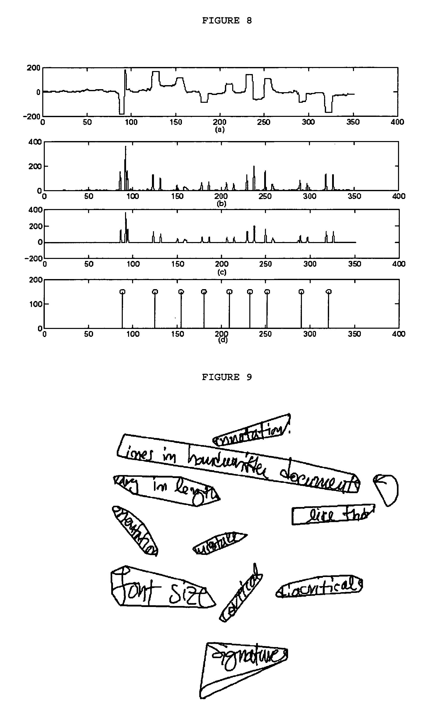 Line Art Extractor : Patent us line extraction in digital ink google