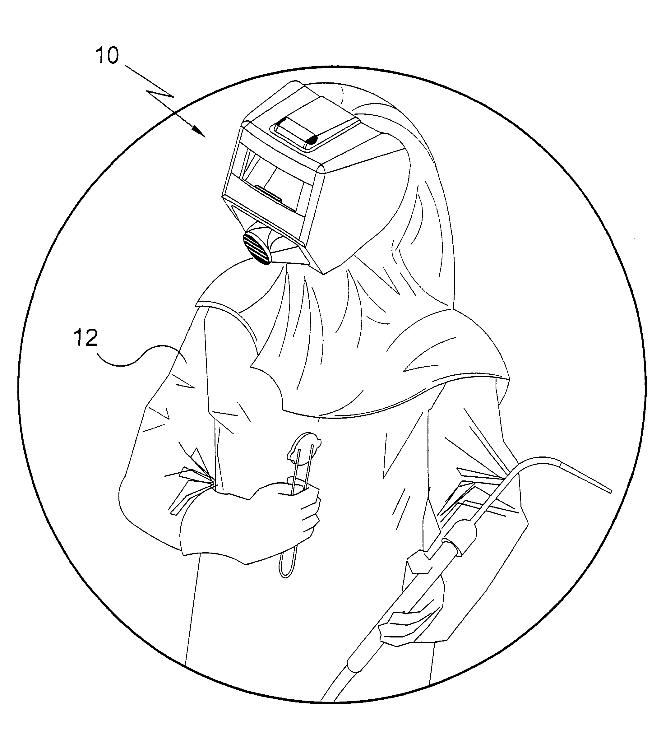 patent us7534005 welding helmet patents Shop Exhaust Fans with Shutters patent drawing
