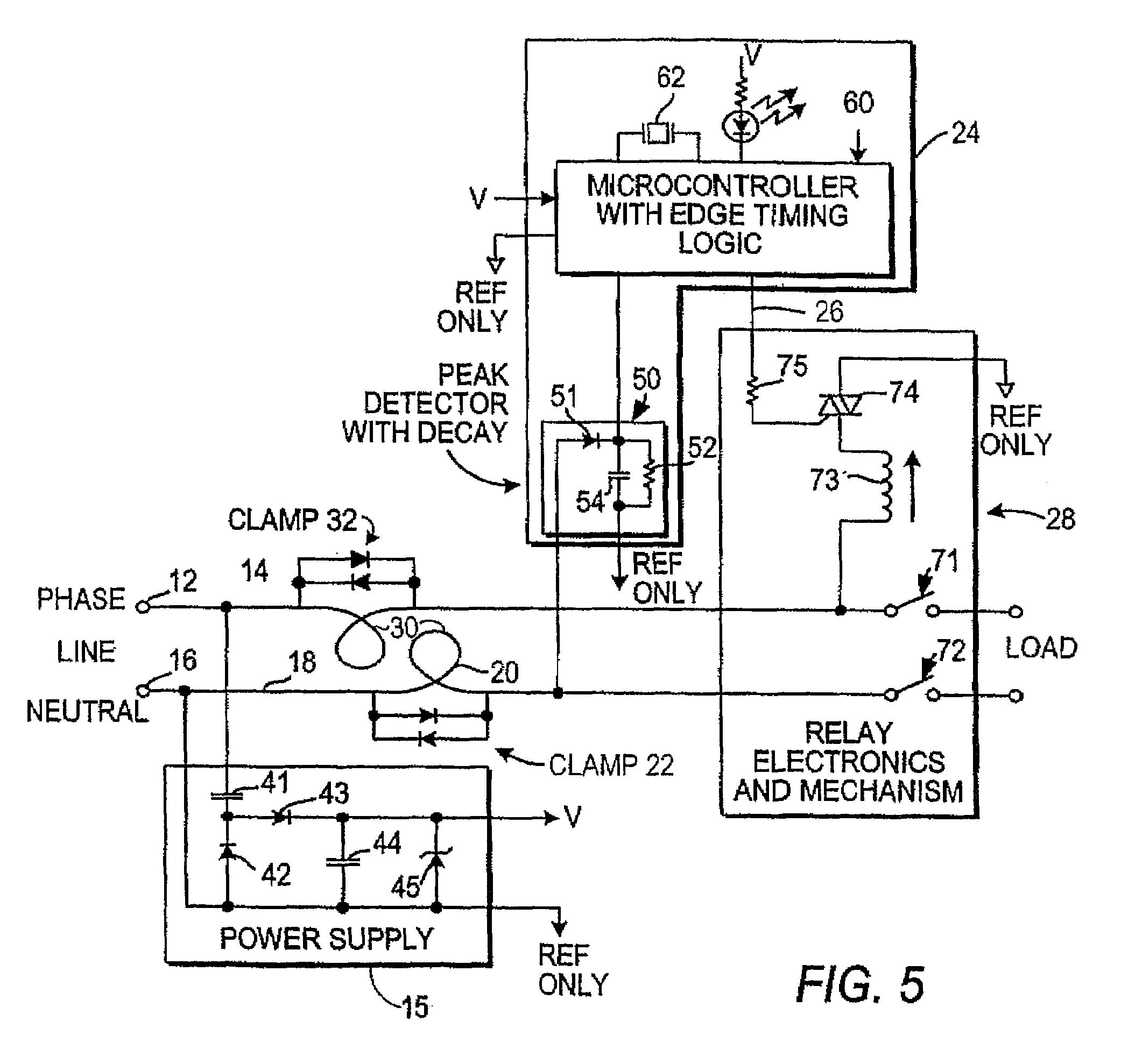 patent us7535234 - arc fault detector