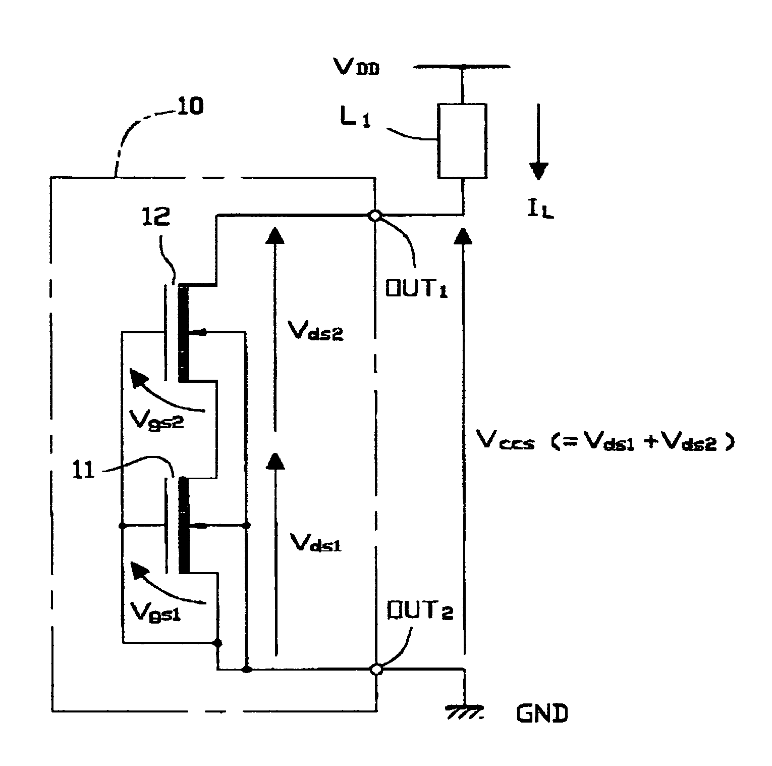 Patente Us7535286 Constant Current Source Apparatus Including Two Circuit Diagram Patent Drawing