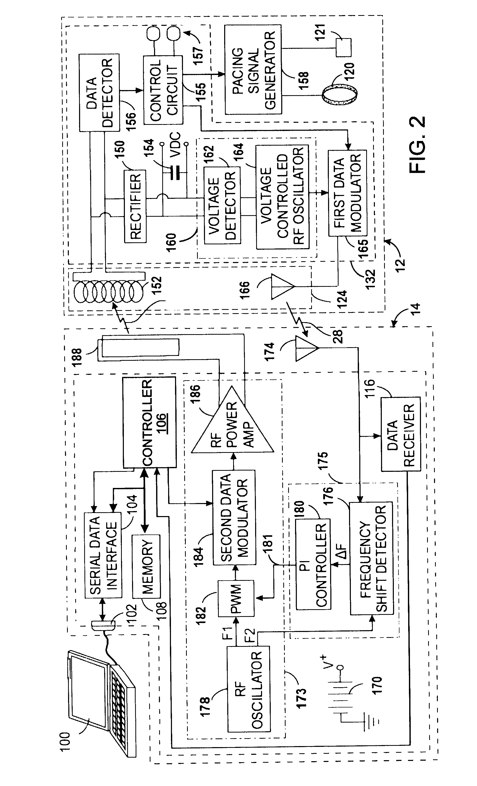 patent us7535296 - class-e radio frequency power amplifier with feedback control