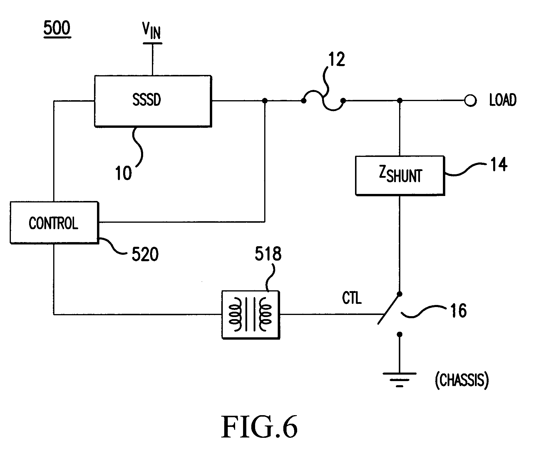 Patent Us7538454 Leakage Current Shunt In An Electrical Power Opto Triac Circuit Drawing