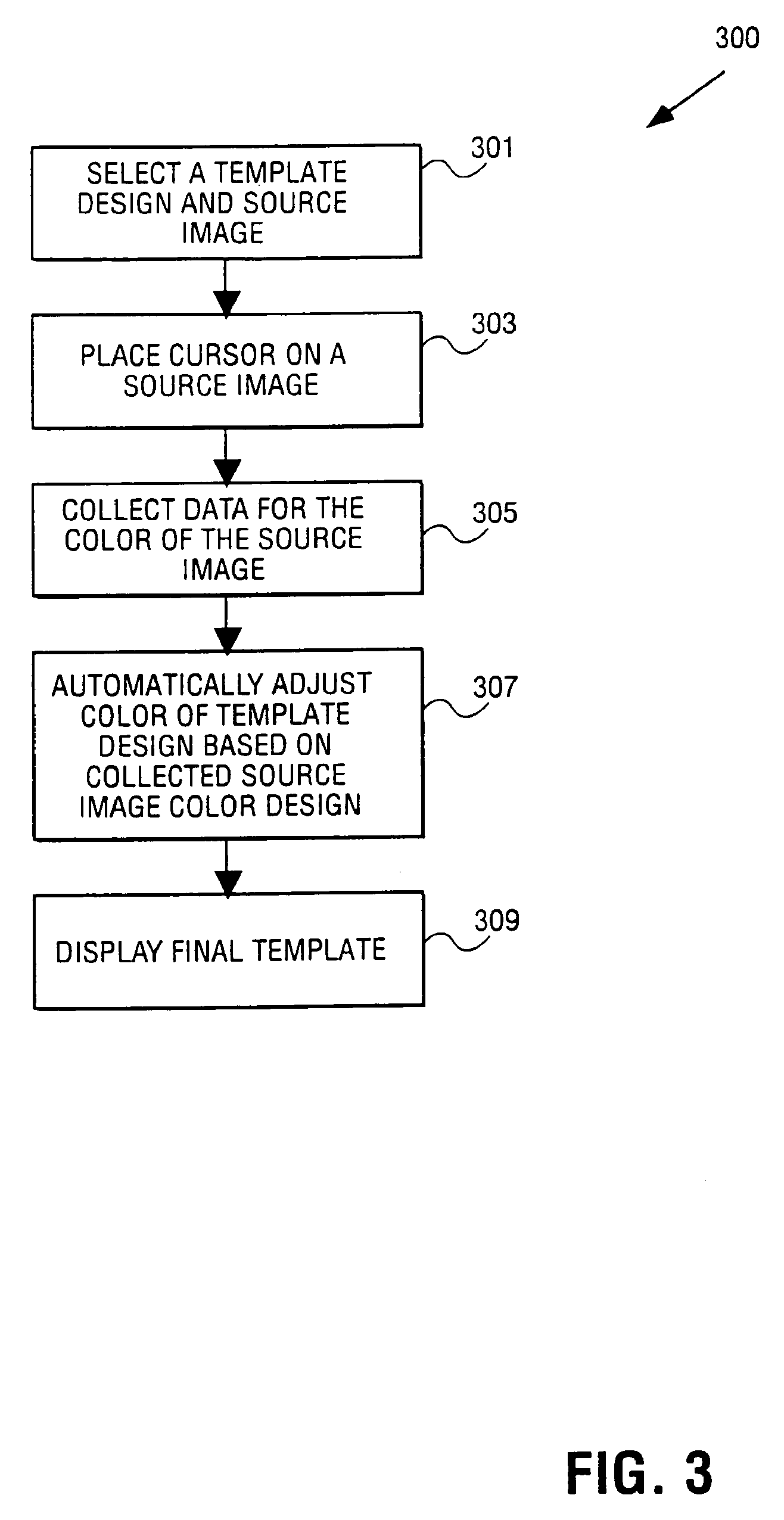 patent specification template - patent us7538776 automatic color adjustment of a