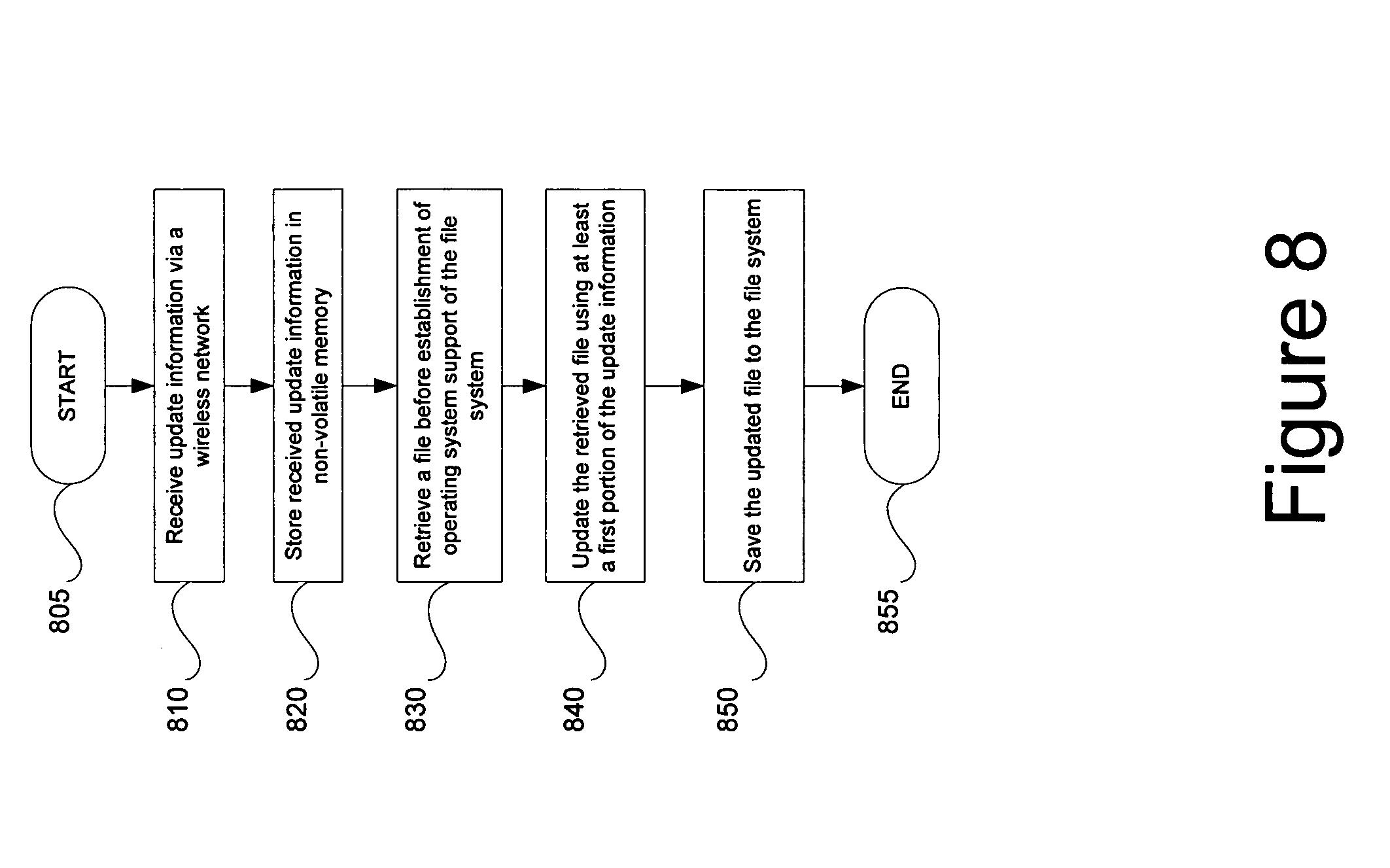 Patent US7543118 - Multiple variance platform for the management of
