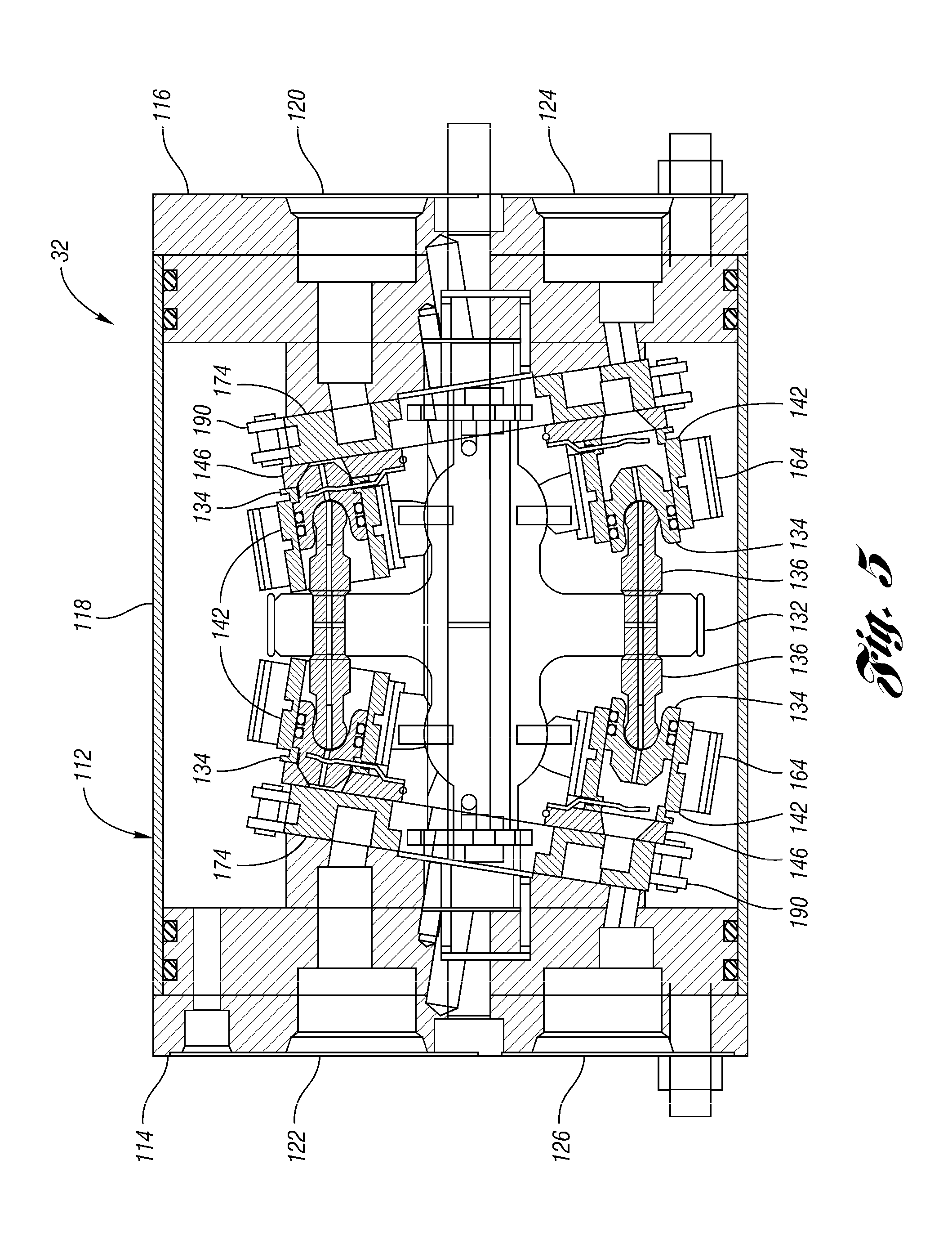patent us7562944 - hydraulic regenerative braking system for a vehicle