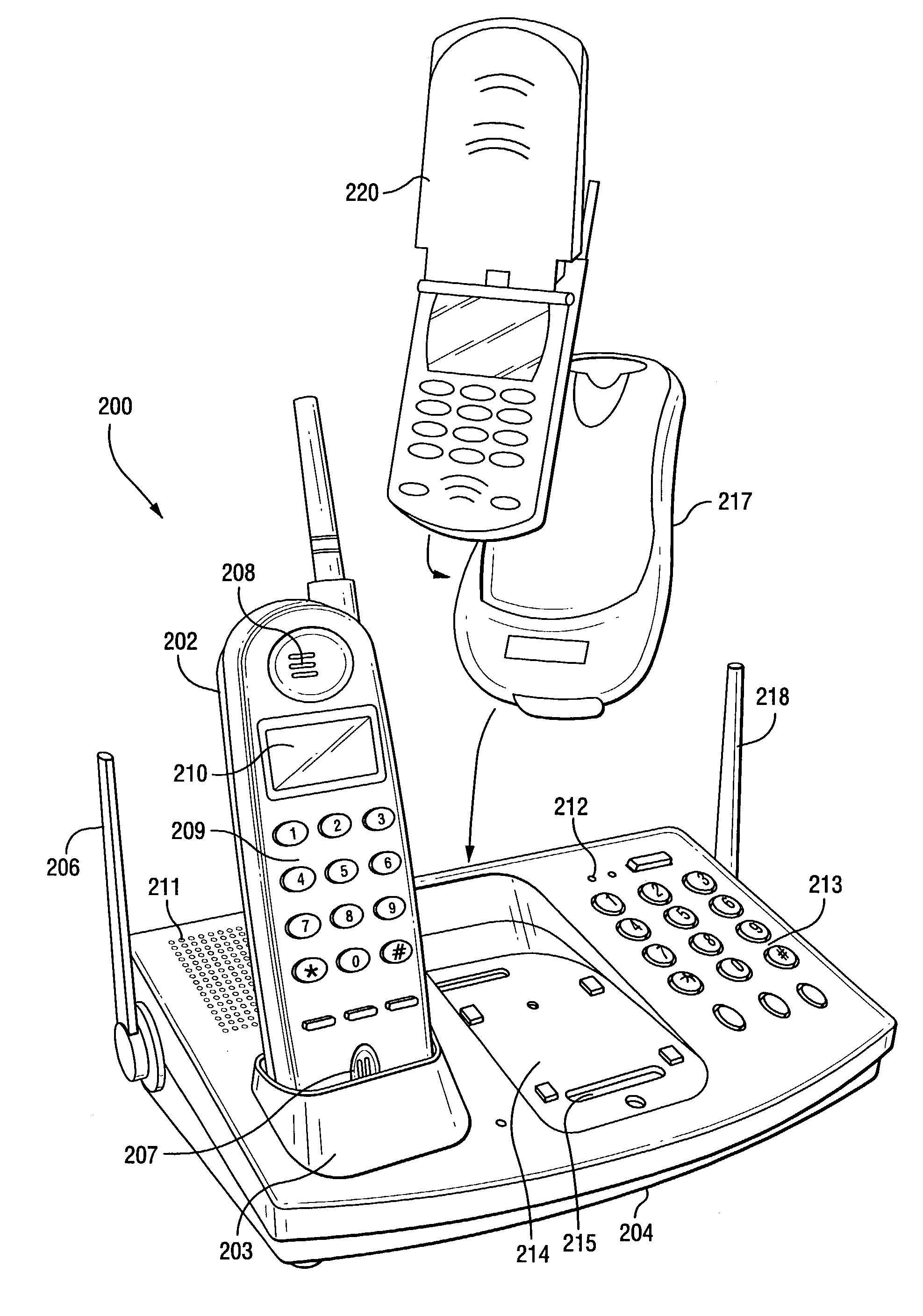 Patent Us7565115 Communication System For Landline And