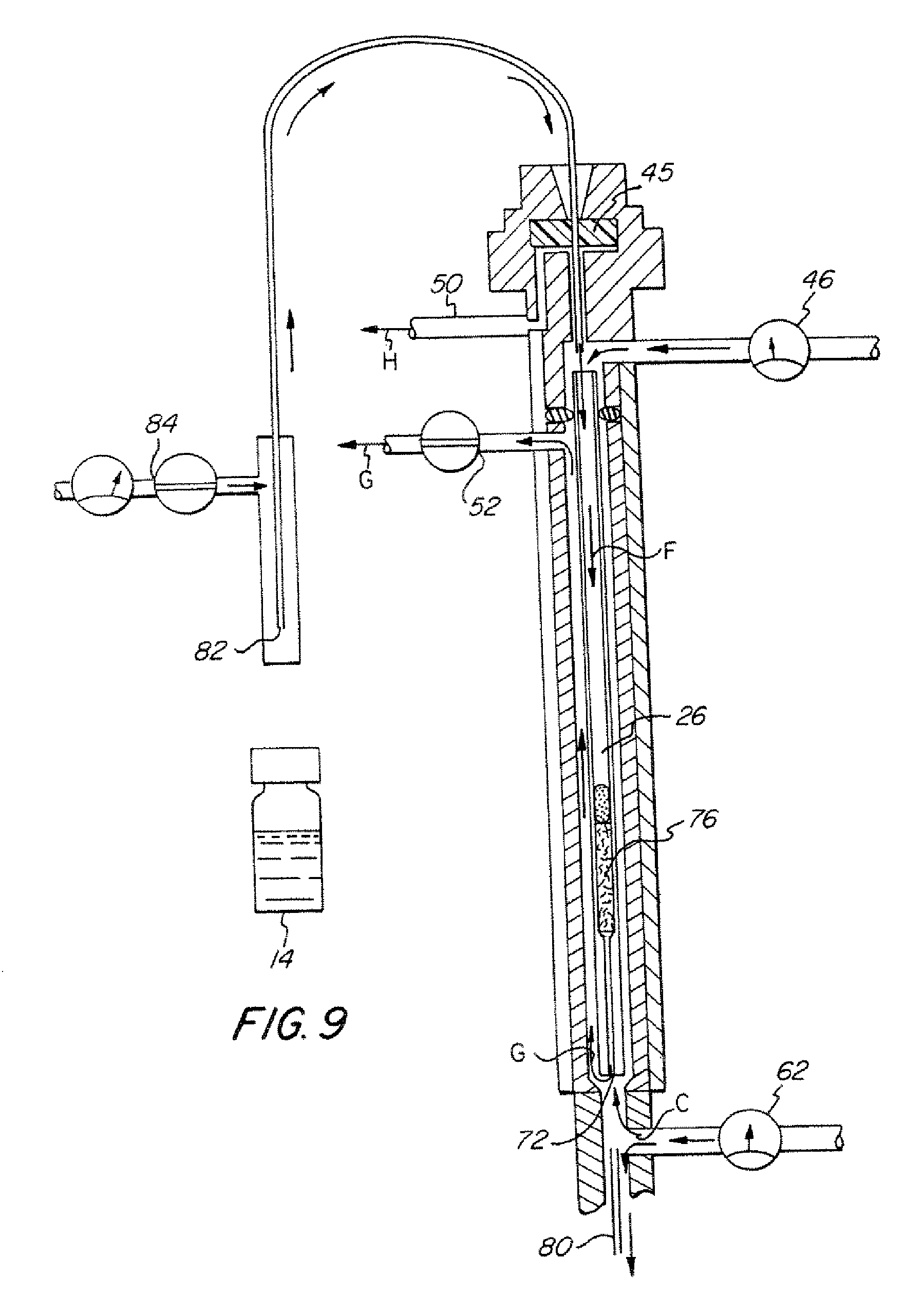 patent us7572319 - analyte pre-concentrator for gas chromatography