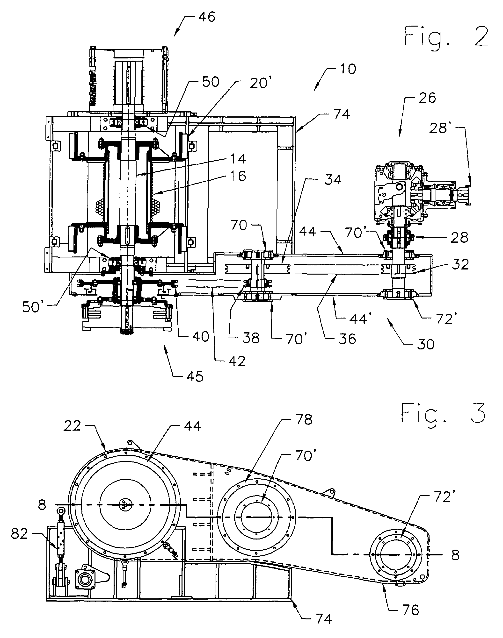 Brevet US7575222 - Drawworks for drilling rigs - Google Brevets