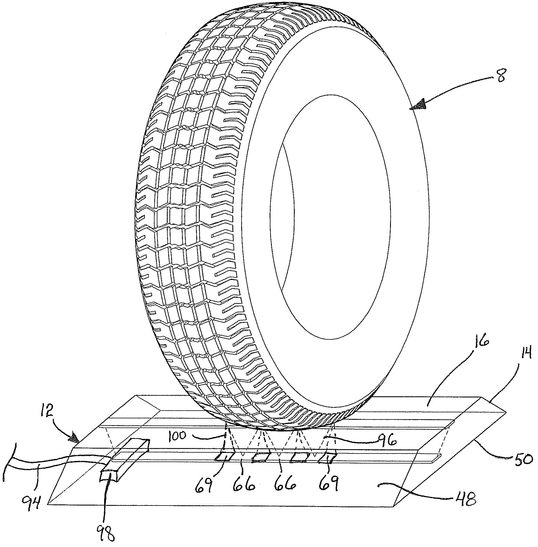 patent us7578180 tread depth sensing device and method for measuring same google patents. Black Bedroom Furniture Sets. Home Design Ideas