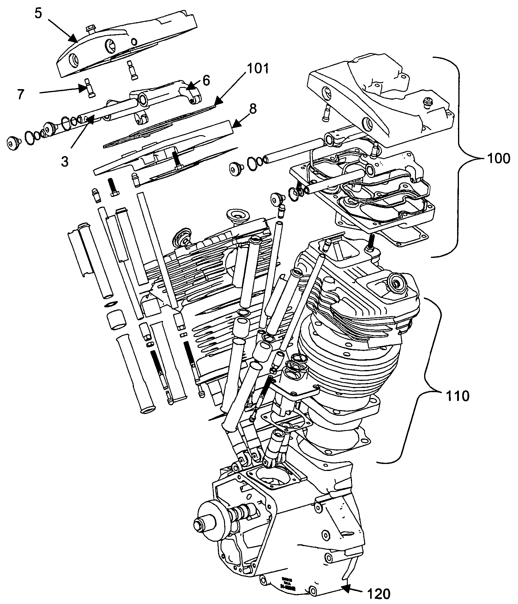 WRG-7489] Harley Shovelhead Engine Diagram