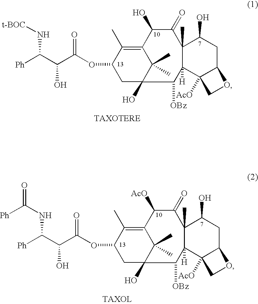 semisynthesis of taxol and taxotere Taxotere (docetaxel) is an antineoplastic agent belonging to the taxoid family it is prepared by semisynthesis beginning with a precursor extracted from the renewable needle biomass of yew plants.