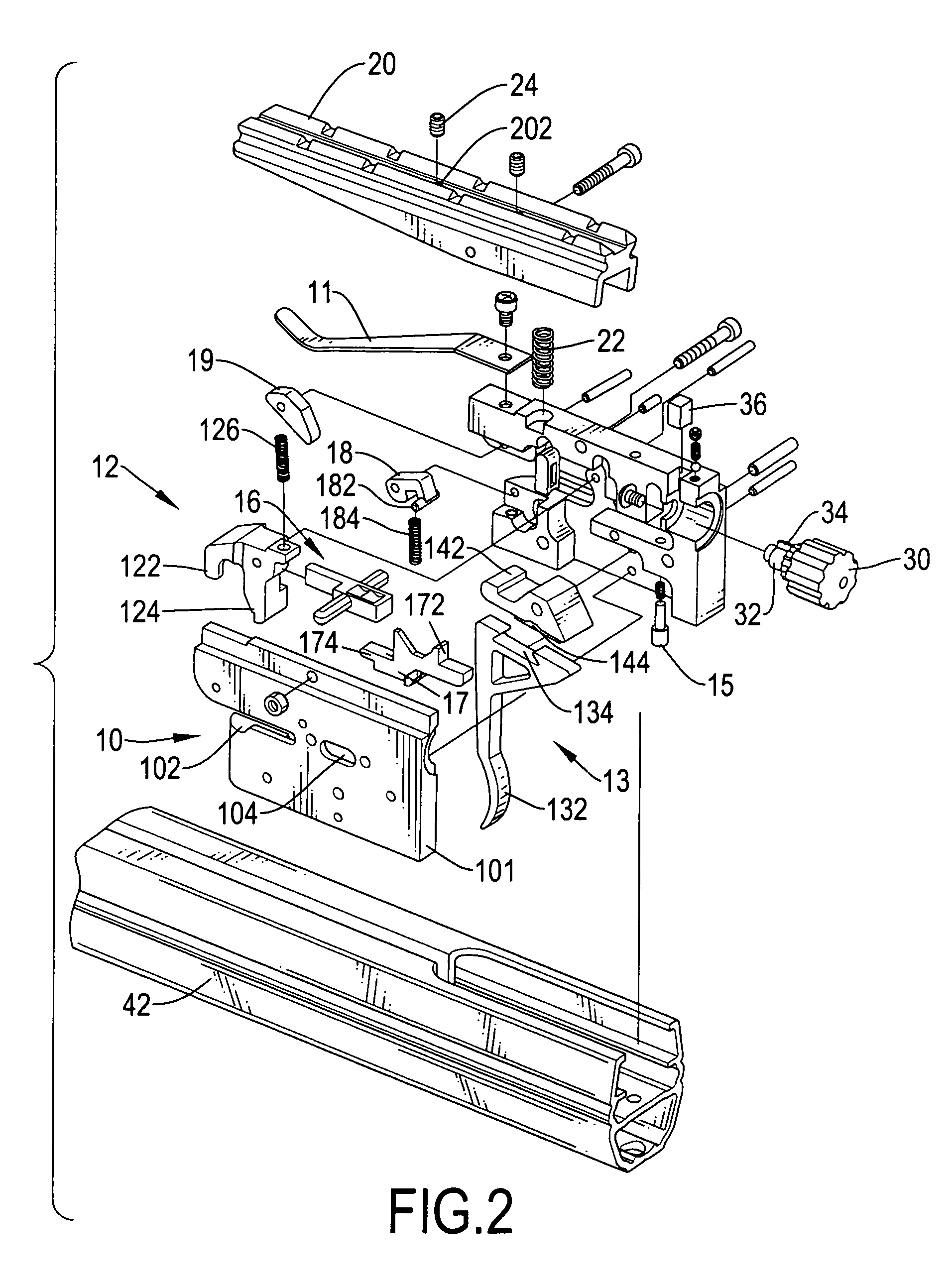 Patent Us7588022 Trigger Assembly With A Safety Device For A