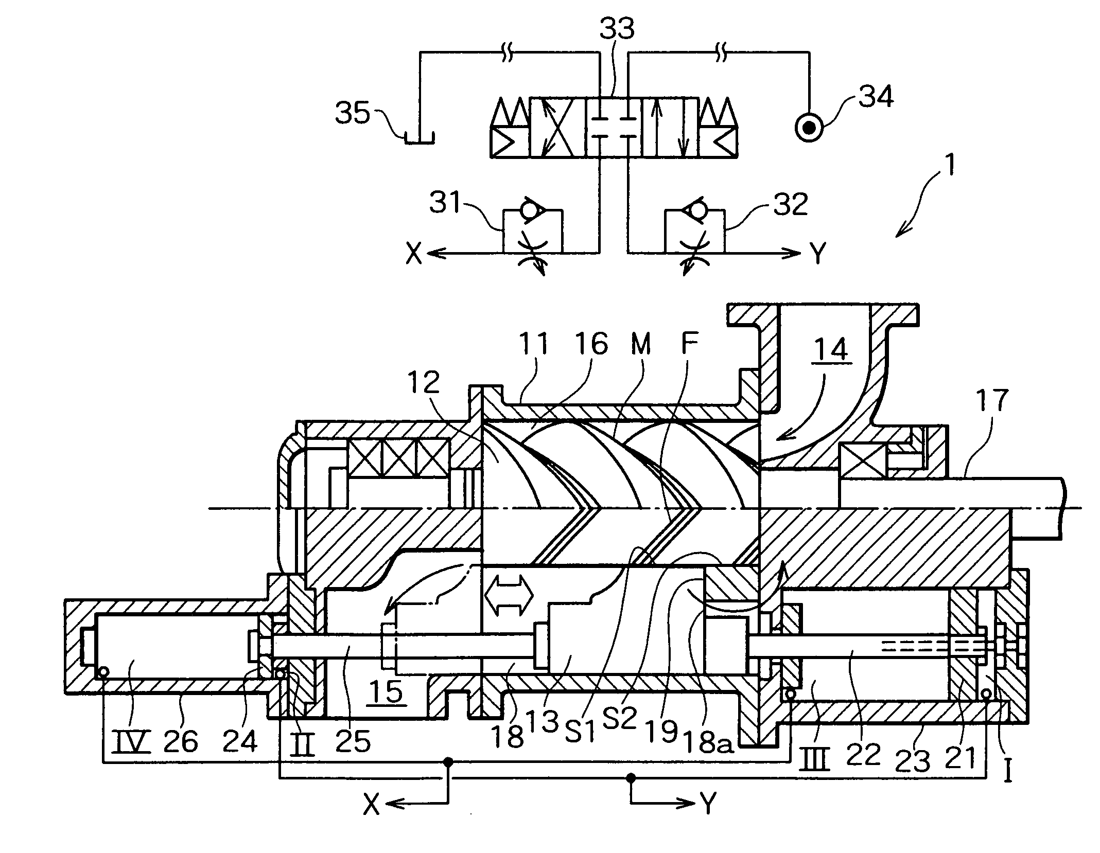 patent us7588430 - screw compressor