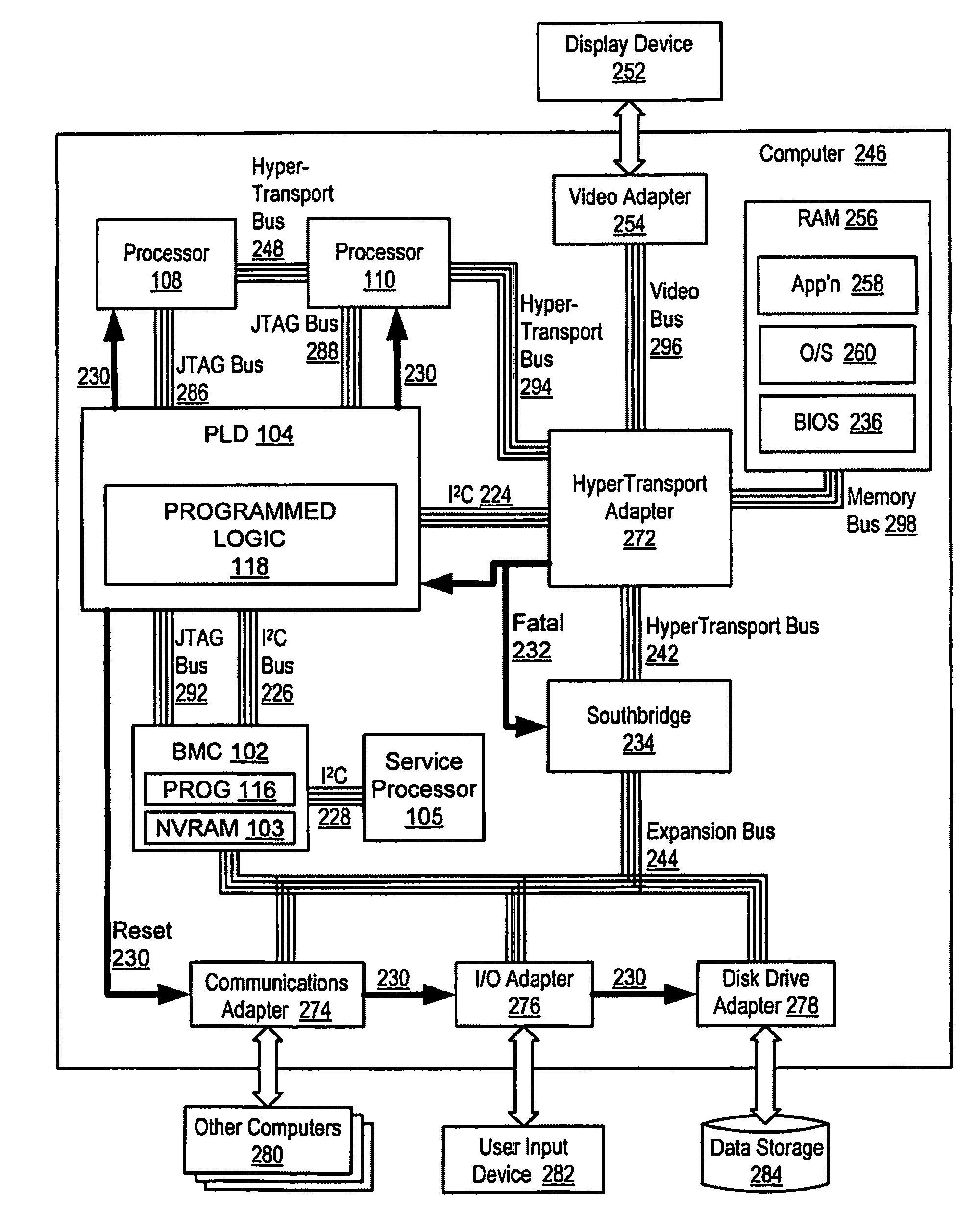 patent us7594144