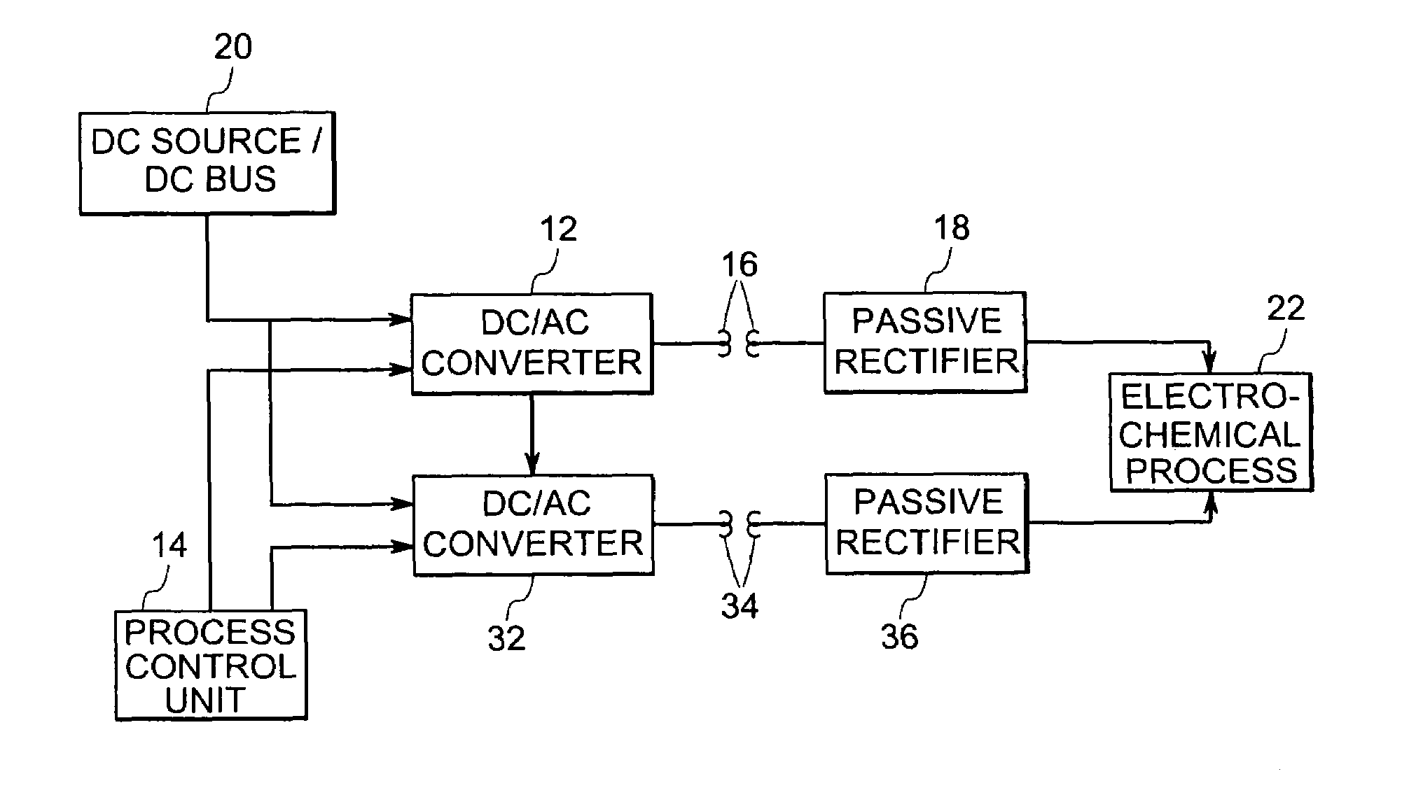 Us7596002 Power Conversion System And Method Dc To Ac Circuit Patent Drawing