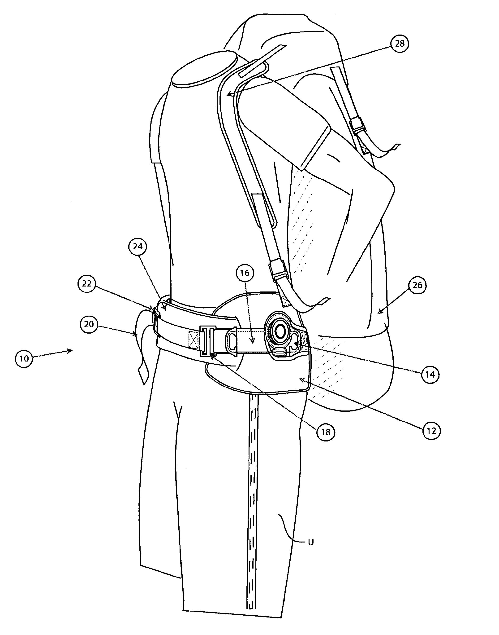 patent us7600660 - harness tightening system