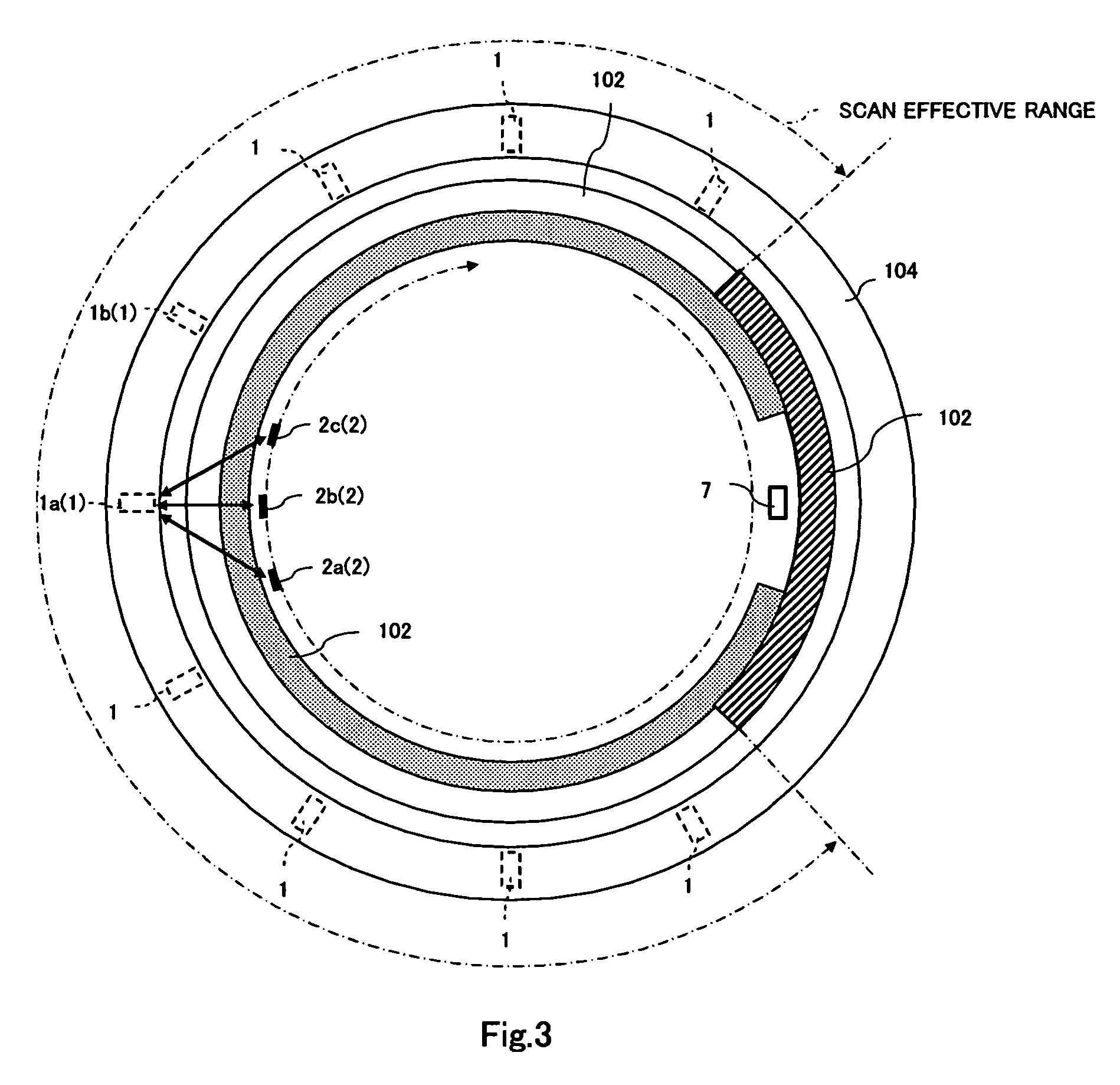 Patent Us7602485 Optical Window Contamination Detecting