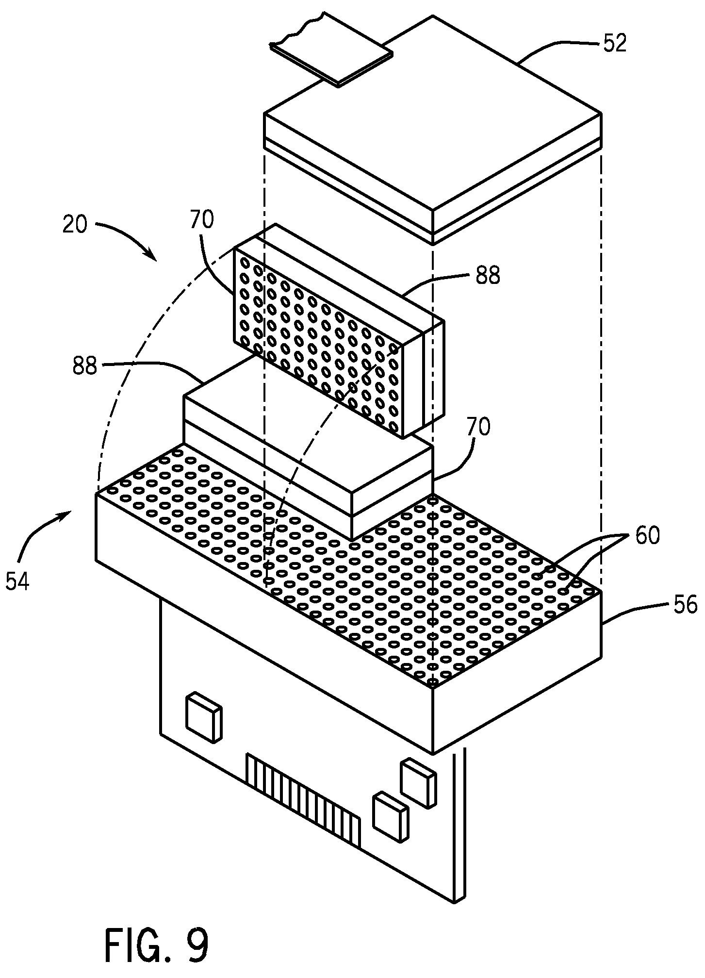 patent us7606346 - ct detector module construction