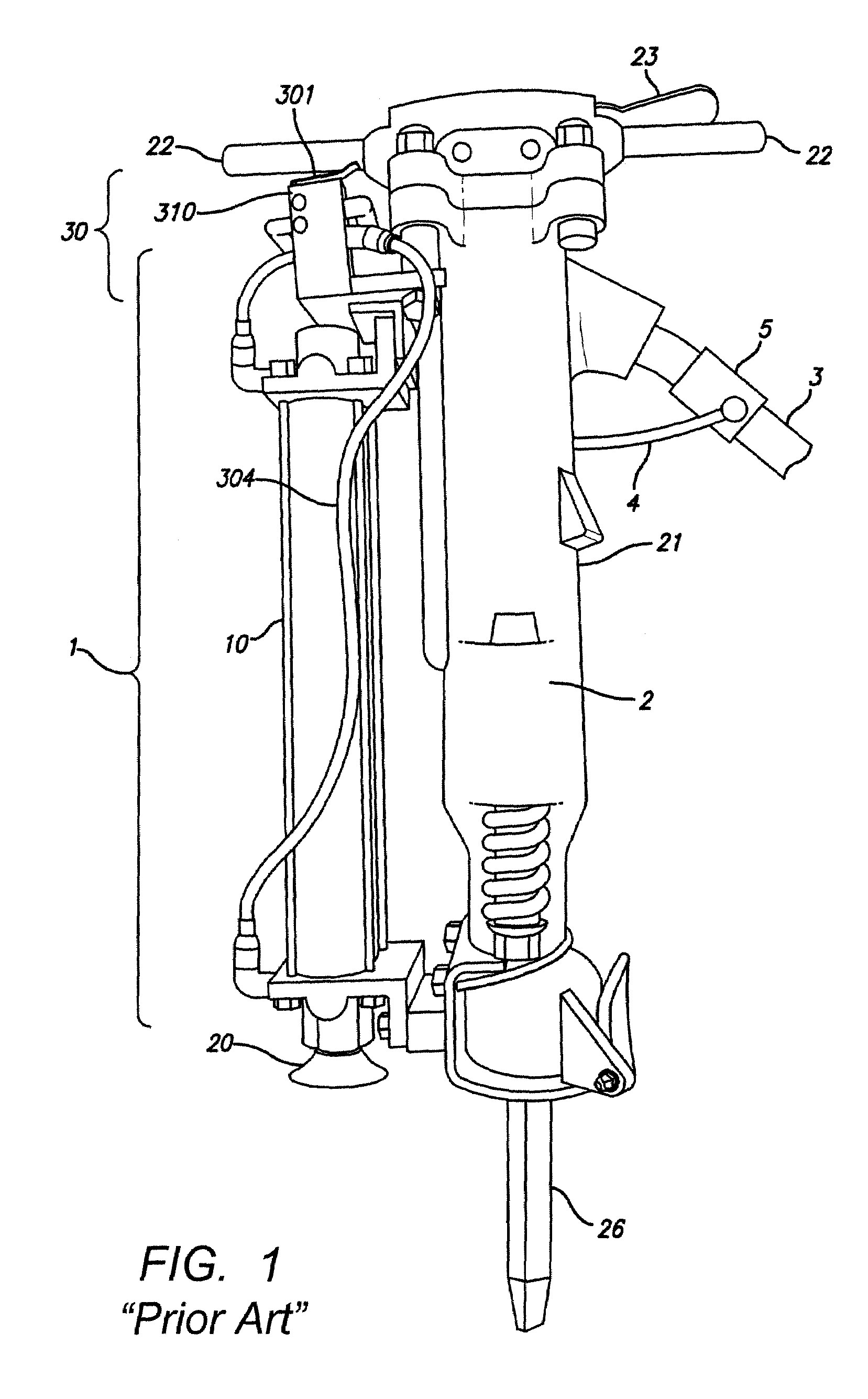 Patent Us7607491 Jackhammer Lift Assist Google Patents