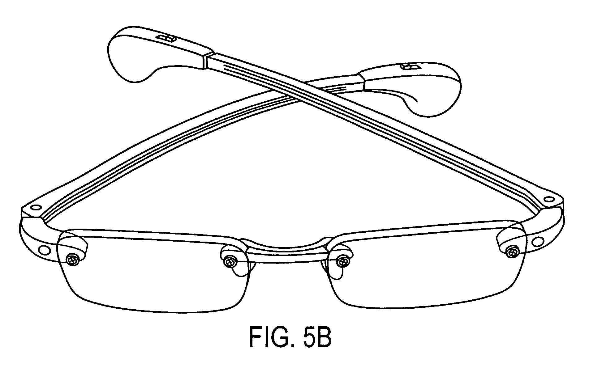 Patent US7607775 - Illuminating eyeglasses and eyeglasses ...