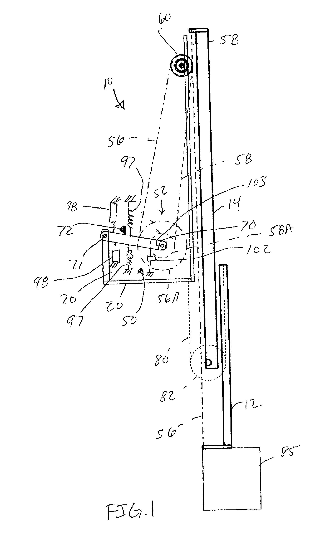 Patent Us7624967 Opposed Rope Hoist Driven Telescoping