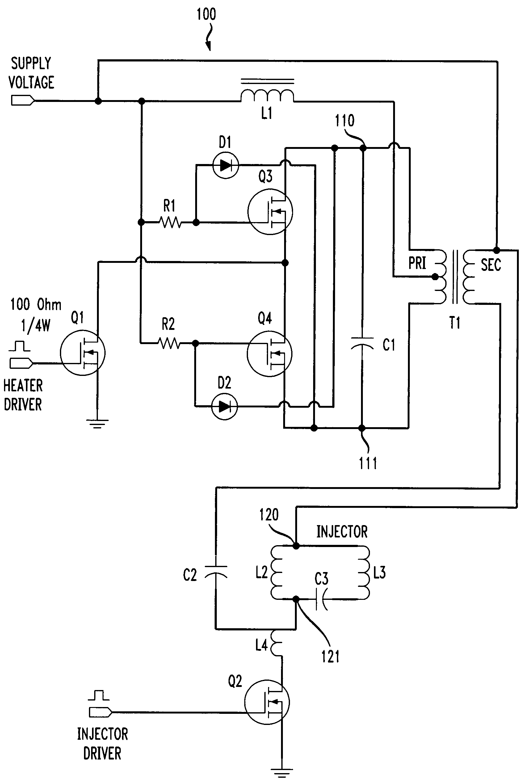 Patente Us7628340 Constant Current Zero Voltage Switching Circuit Is Placed In The Base To Ground Oscillator Patent Drawing