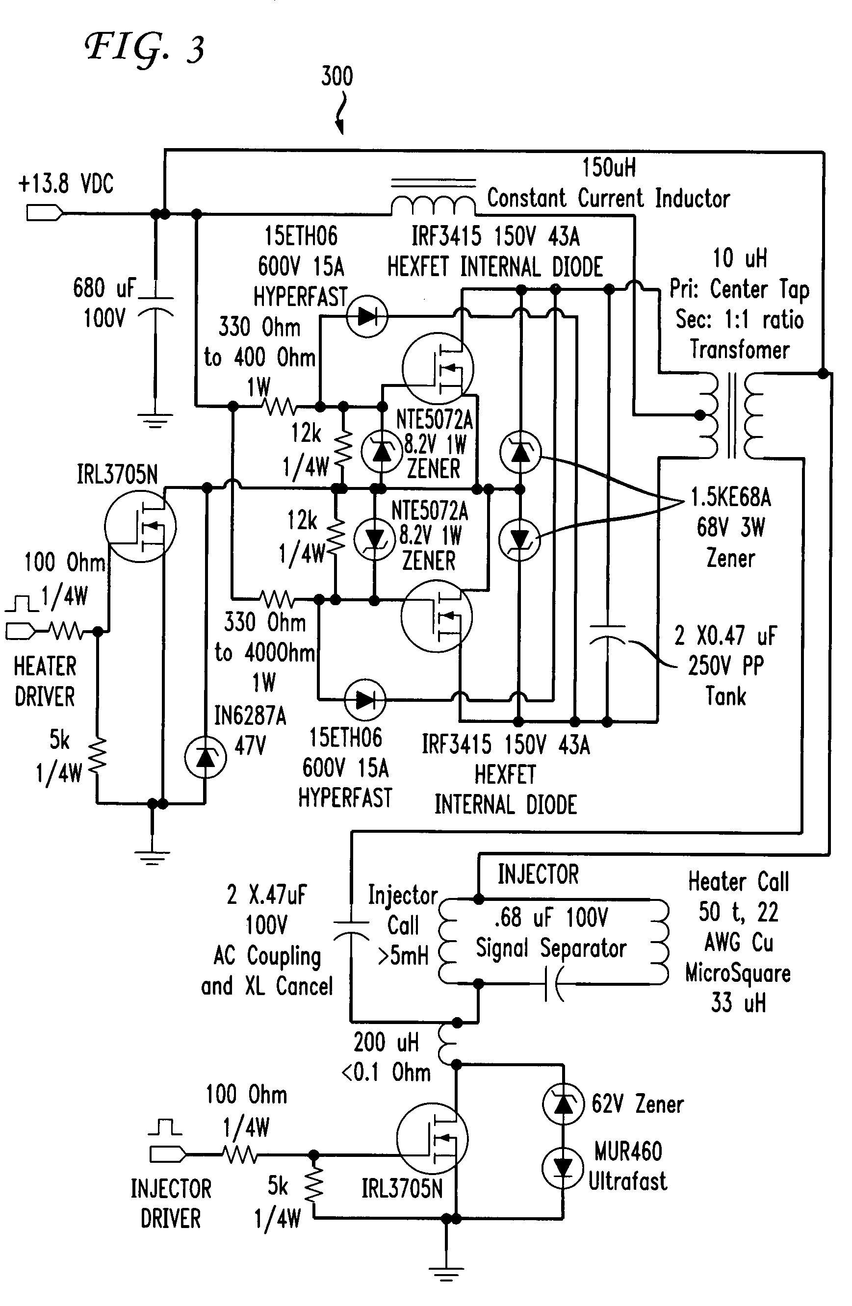 Dc Tesla Coil Wiring Diagram Html together with  likewise Spark Plug Connections On Ignition Coils Bosch Engine in addition Current likewise Simple Induction Heater Circuit Hot. on induction coil driver