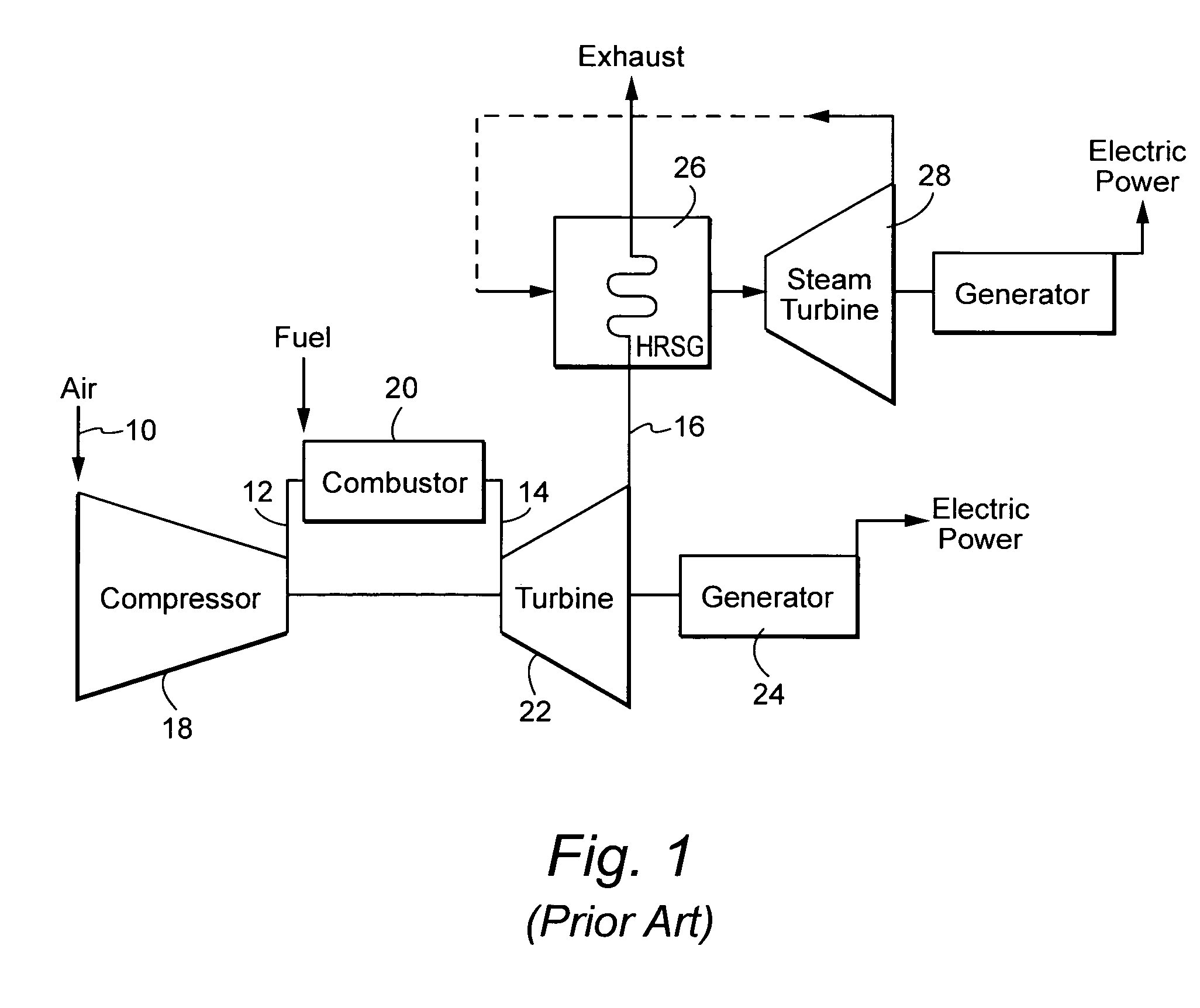 Patent US Gas turbine inlet conditioning system and