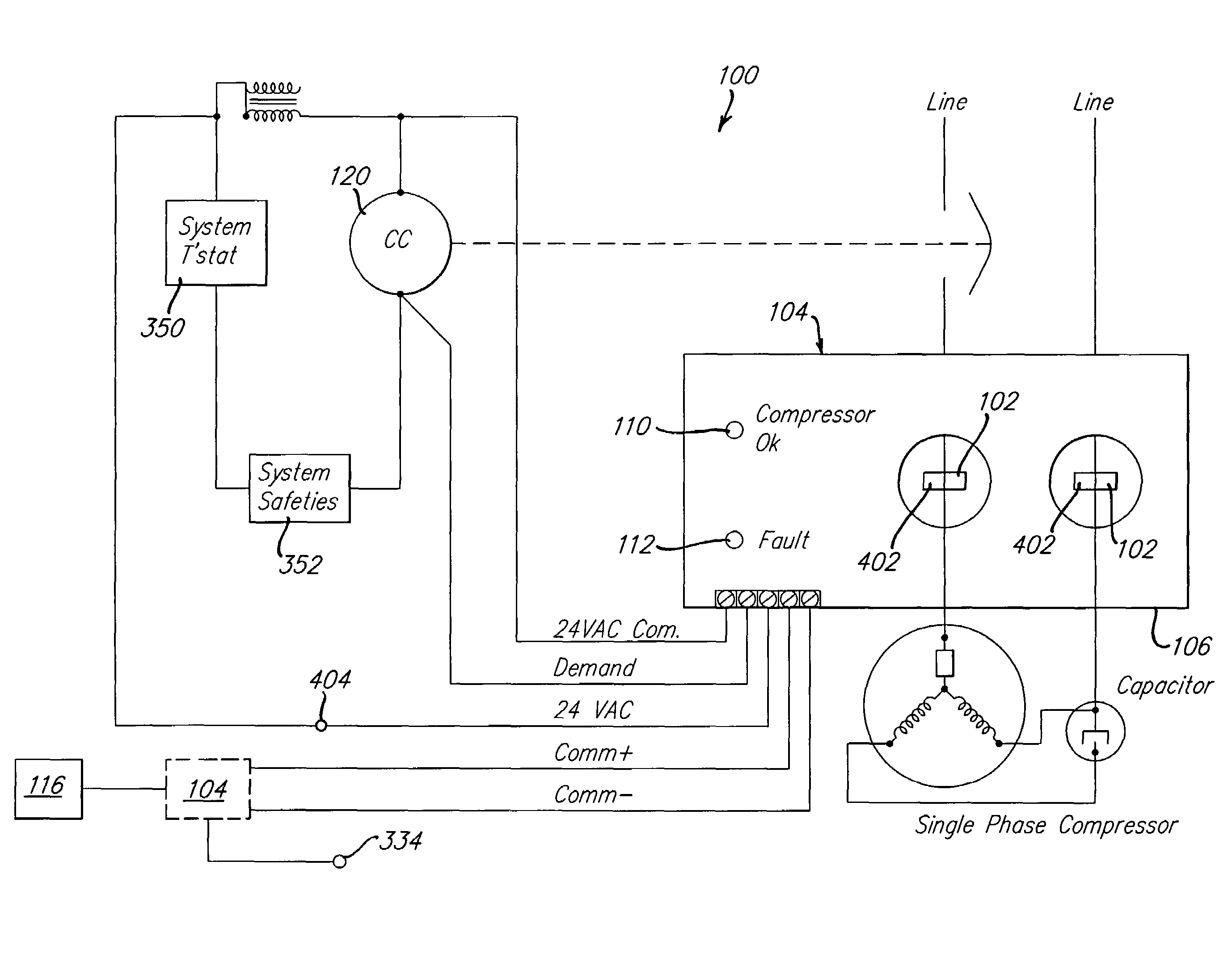 compressor wiring diagram patent us7647783 - compressor diagnostic system - google ...
