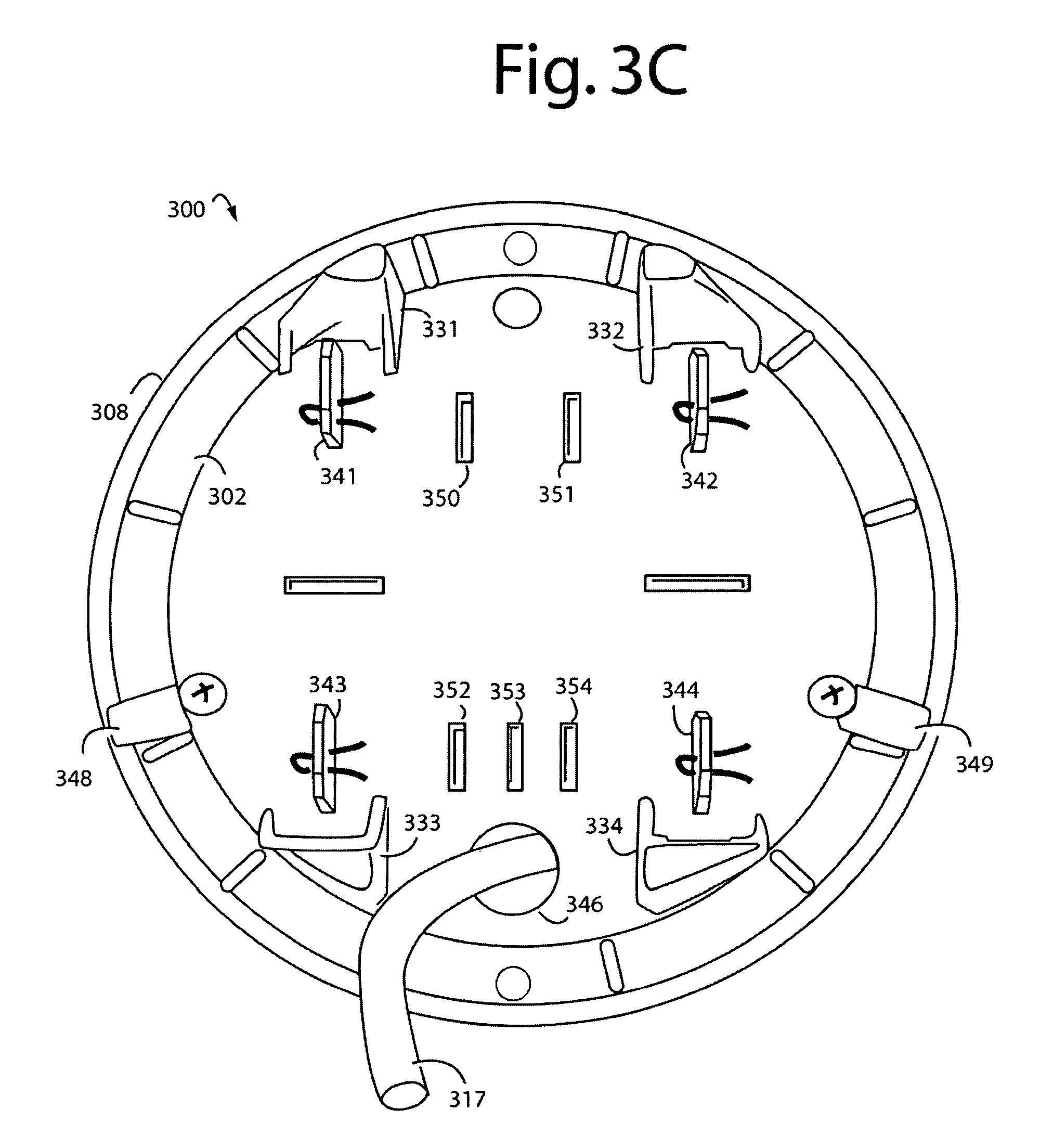 Patent Us7648389 - Supply Side Backfeed Meter Socket Adapter