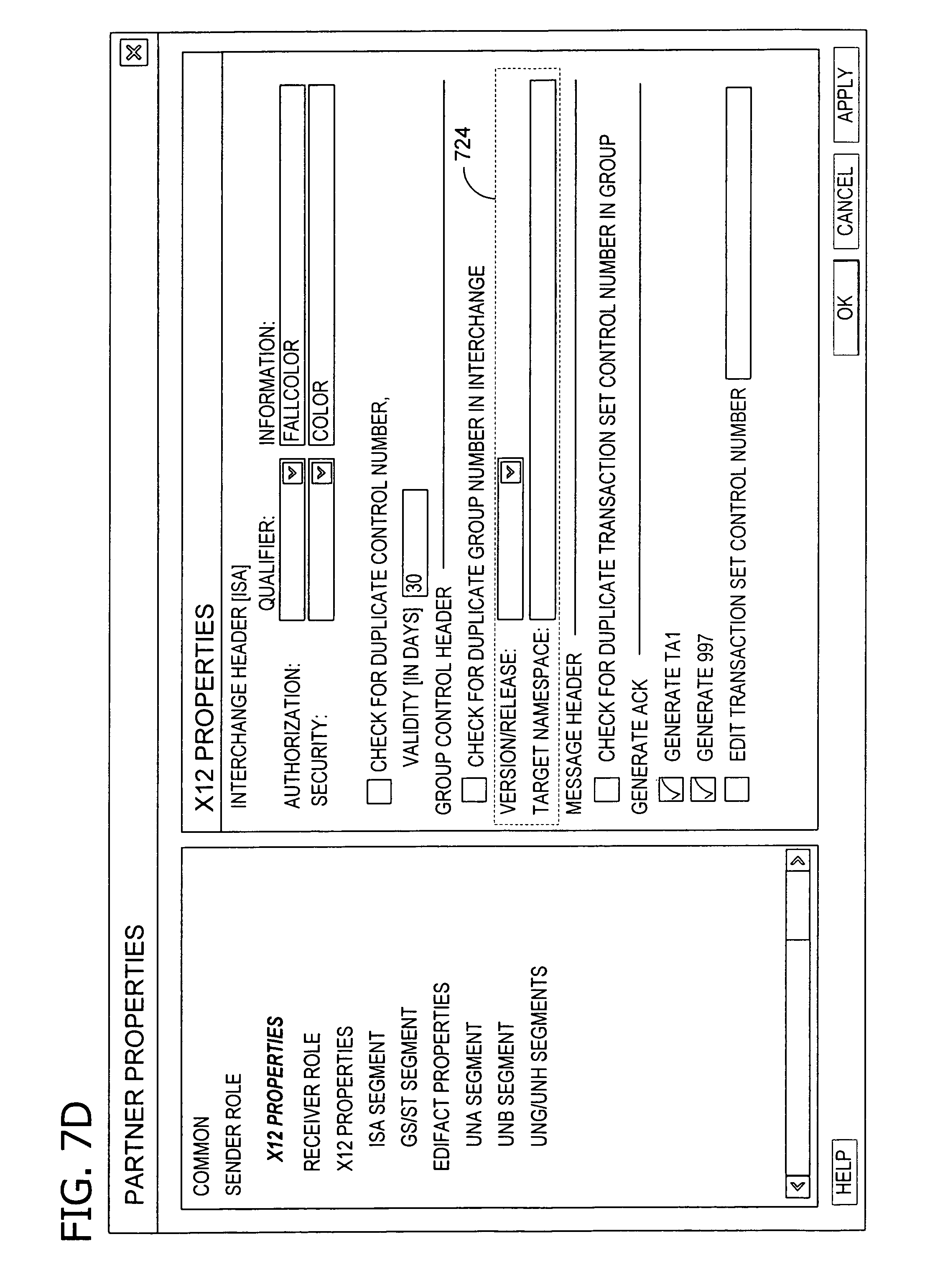 Patent US7650353 - XML specification for electronic data interchange