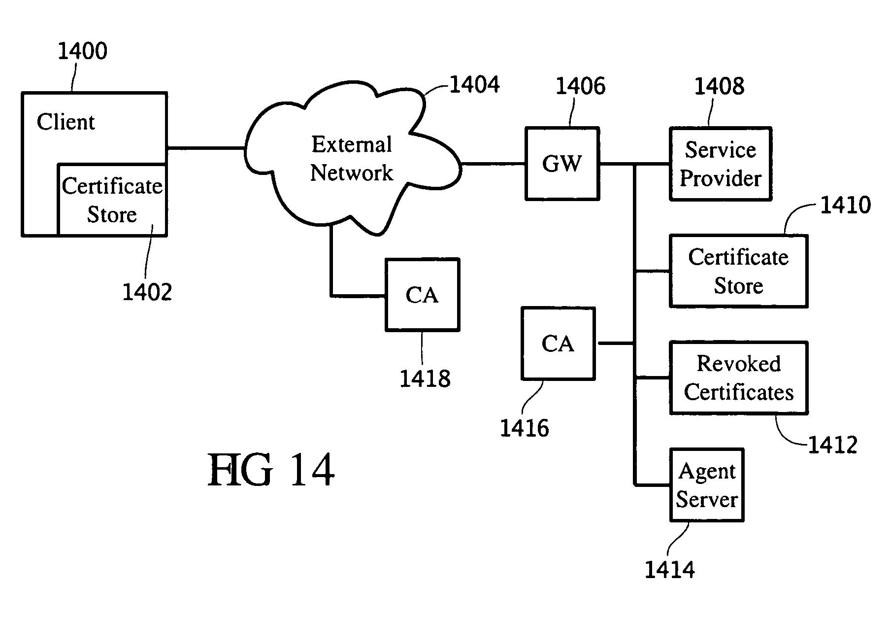 Patent US7650497 - Automated digital certificate renewer - Google