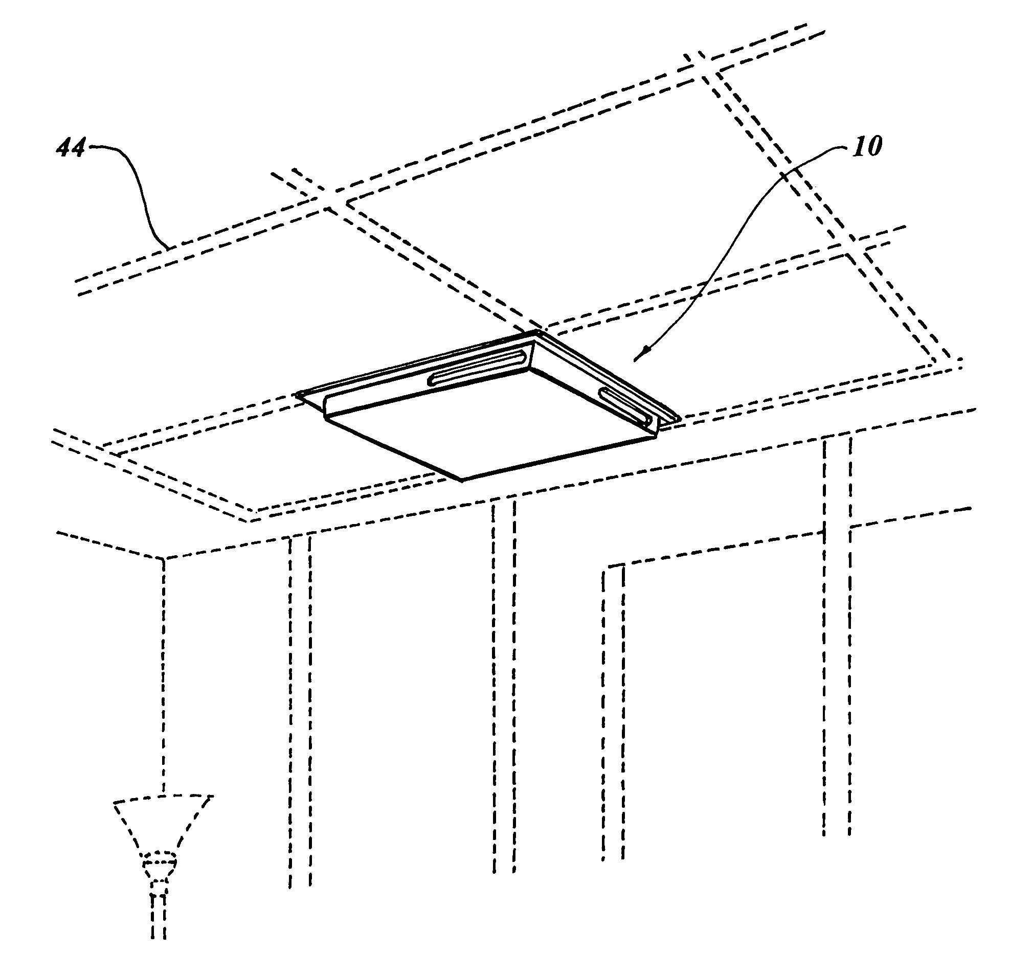 patent us7651390 - ceiling vent air diverter