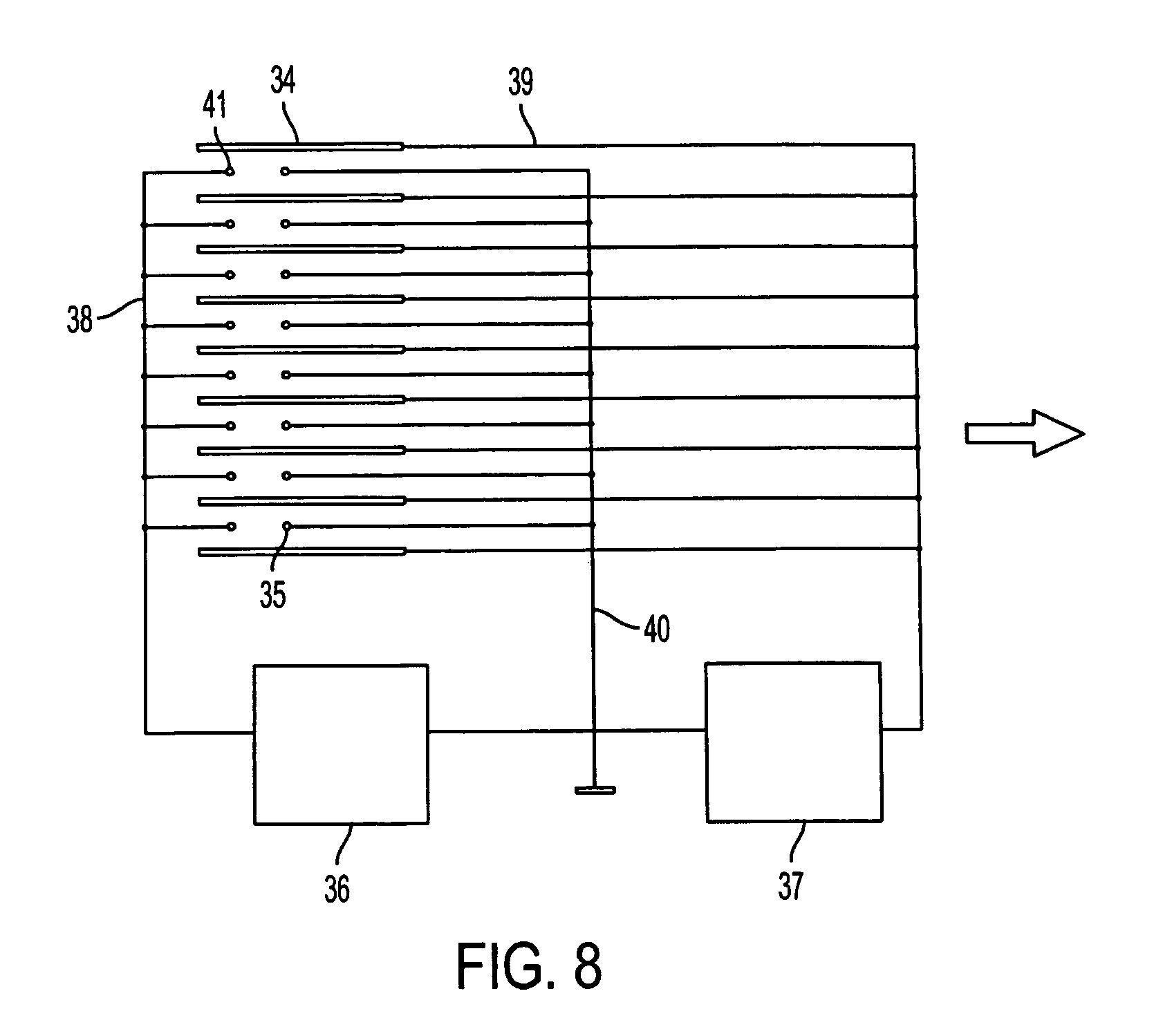 Electrostatic Fluid Accelerator : Patent us electrostatic fluid accelerator