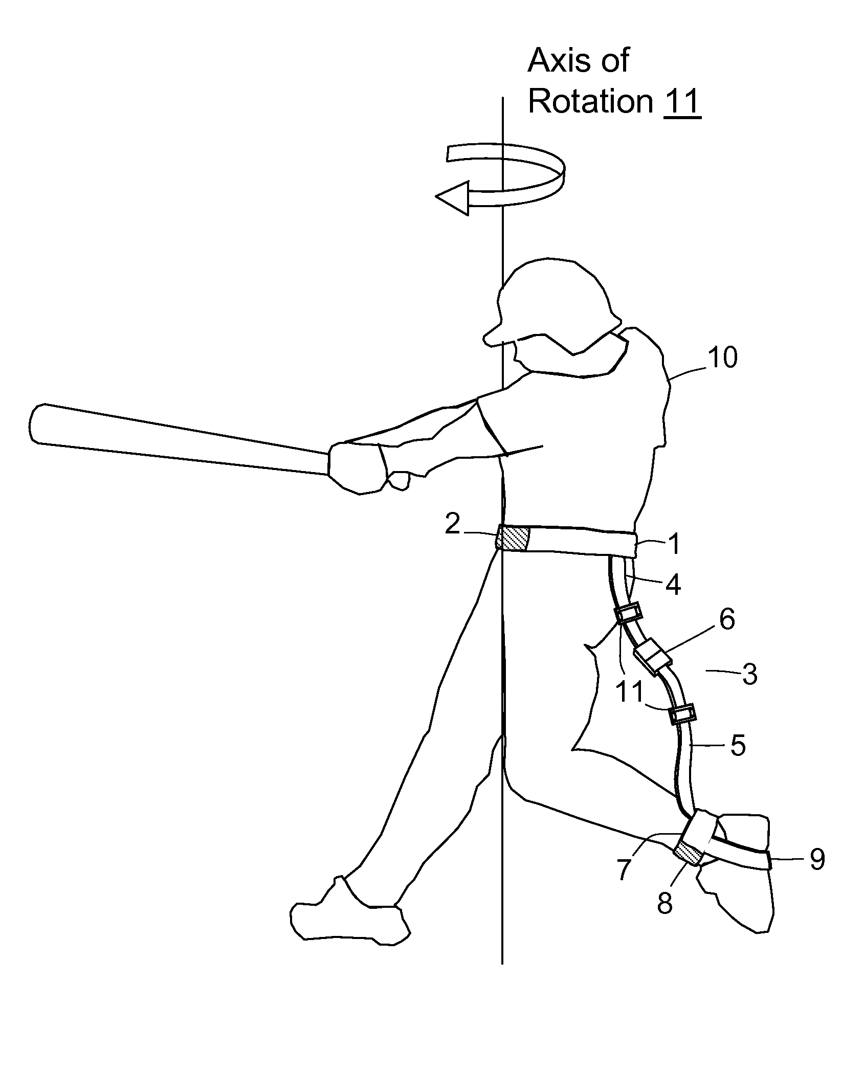 Patent Us7654921 - Baseball Batting Training Aid