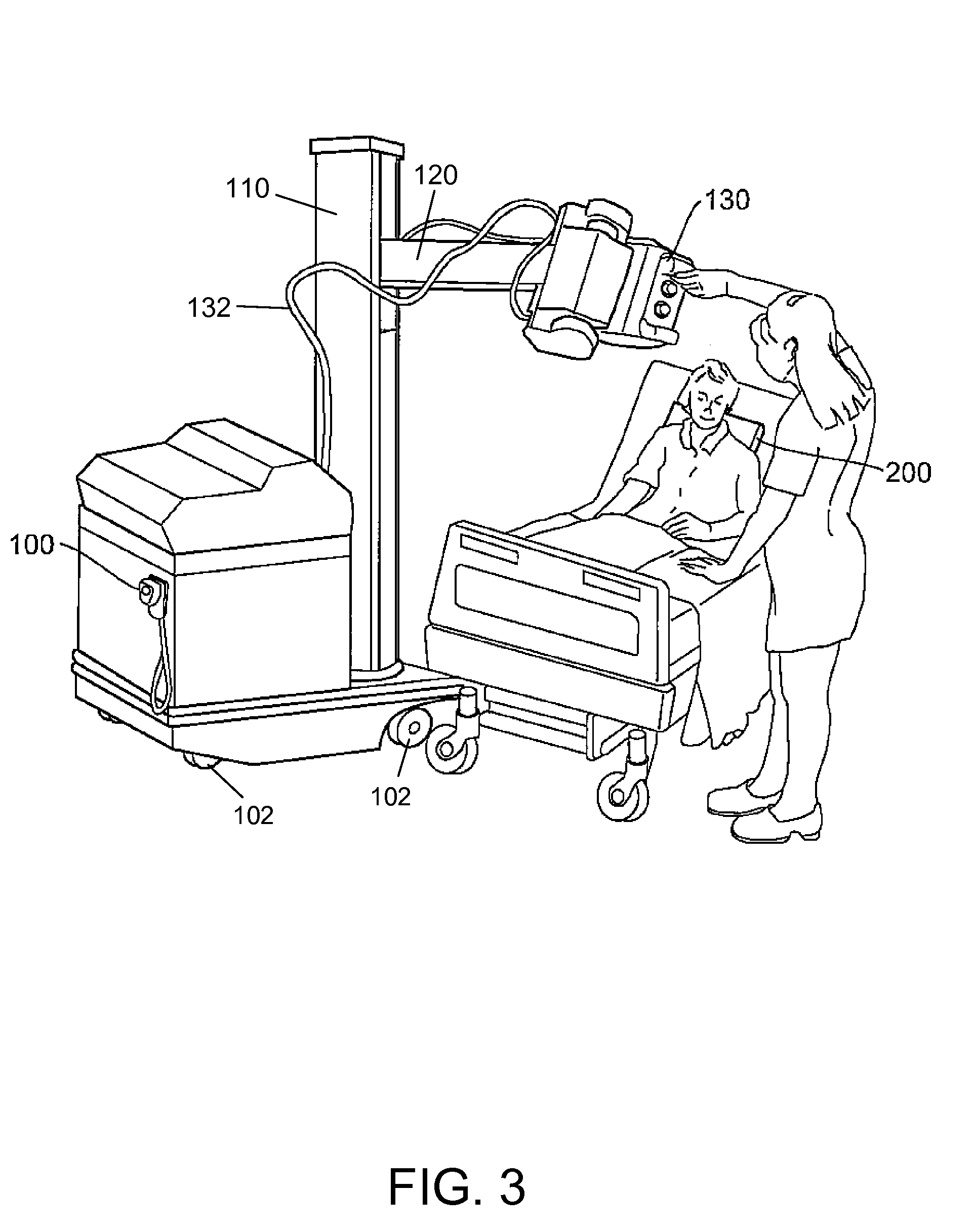 patent us7664228 - x-ray imaging apparatus and detector panel