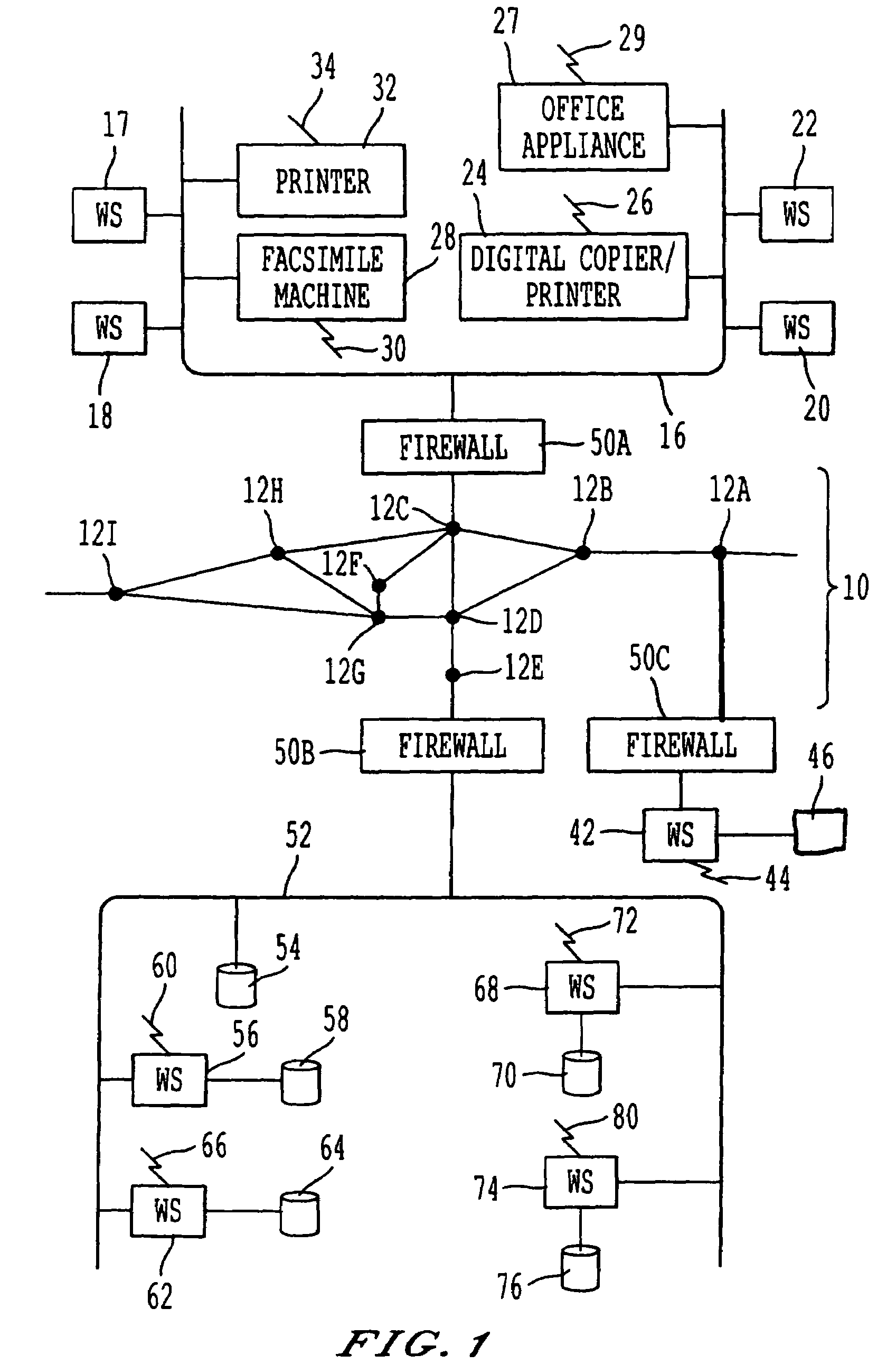 Patente Us7664886 System Method And Computer Program Product Vector 9000 Gps Wiring Diagram Patent Drawing